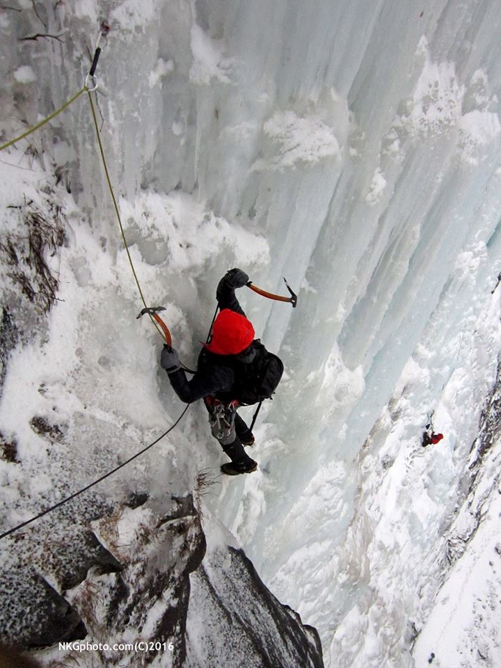 Vermont's Premier Guide Service & Climbing School!   Killington Mountain Guides offers full spectrum professional climbing instruction, guided climbs in the rock climbing, ice climbing, alpine climbing and back country ski disciplines. We also offer courses in backcountry first aid, evacuation, and search & rescue training.  Our guides are professionals with a tremendous amount of experience in wilderness first response, search and rescue, and instructing back-country wilderness skills and techniques.  The Killington Mountain Guide philosophy is simple: enrich people's lives. We provide exceptional service and unforgettable, skiing, climbing and educational experiences. Join one of our experienced guides for a day of untracked powder, solitude and exercise. We offer custom trips for novice to expert skiers and climbers, and will help you select objectives in line with your enthusiasm and ability.  - Our Lead Guide Robert Giolito is a American Mountain Guides Association (AMGA) Single Pitch Instructor licensed to guide Rock and Ice Climbing in the State of New York by the Department on Environmental Conservation BADGE # 7262. Robert holds certifications in NASAR (National Association for Search and Rescue) Missing and Lost Person Incident (MLPI), and is certified in Wilderness EmergencyMedical Technician (WEMT) and Emergency Medical Technician certified by the National Emergency Medical Technicians and the State of Vermont -  Killington Mountain Guides also operate within the Green Mountain National Forest at Deer Leap in Killington and the Falls of Lana.