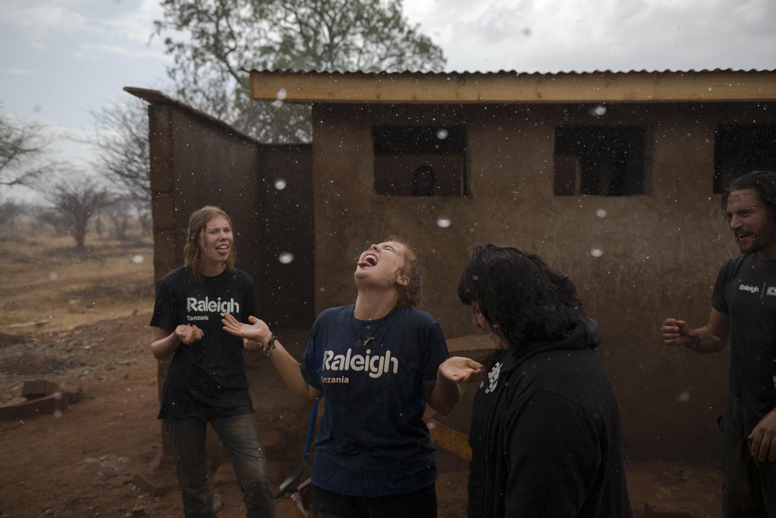 Surprise downpour in Msunjilile