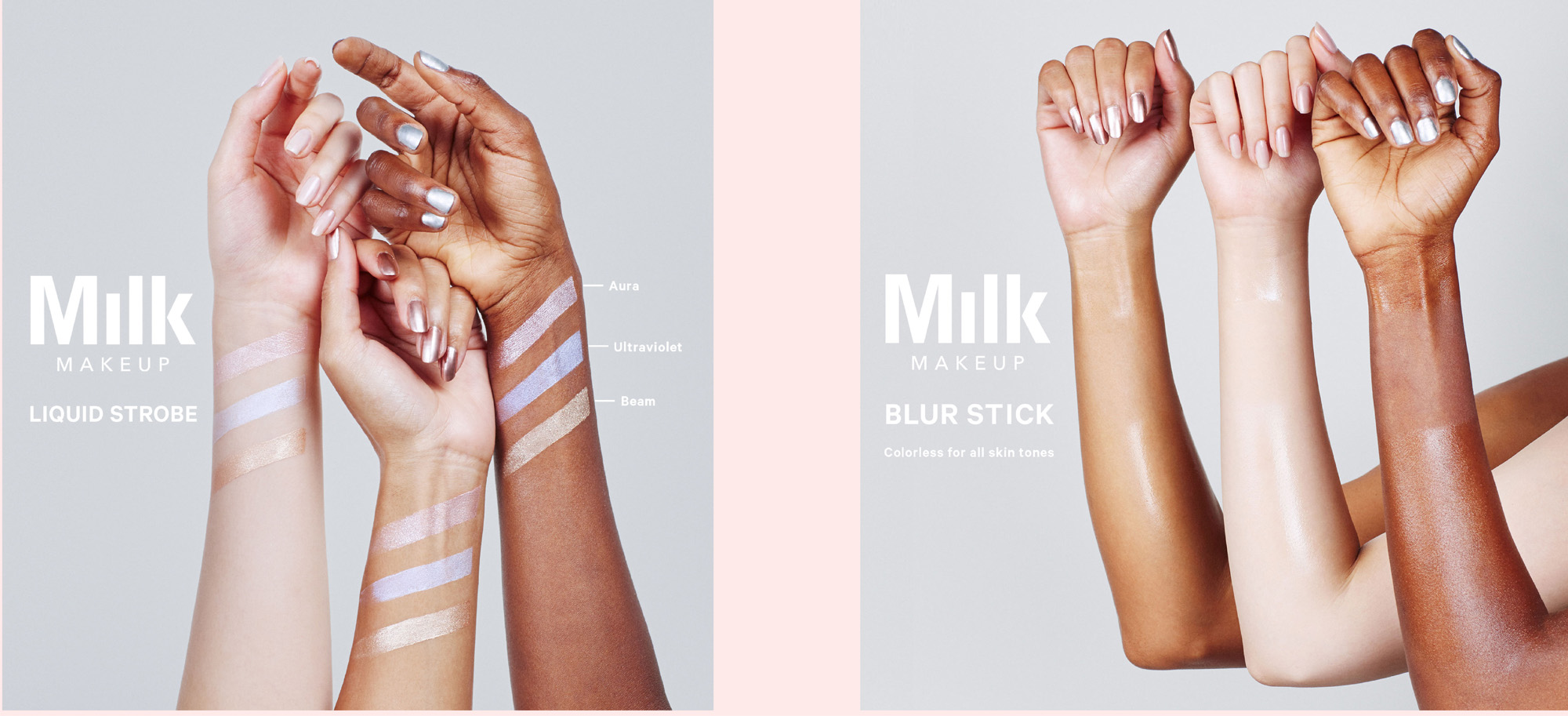 Swatch shoot S/S'17 product art direction for Sephora