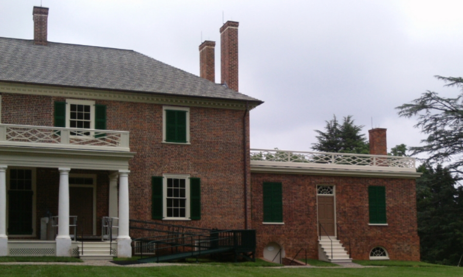 Montpelier rear north wing
