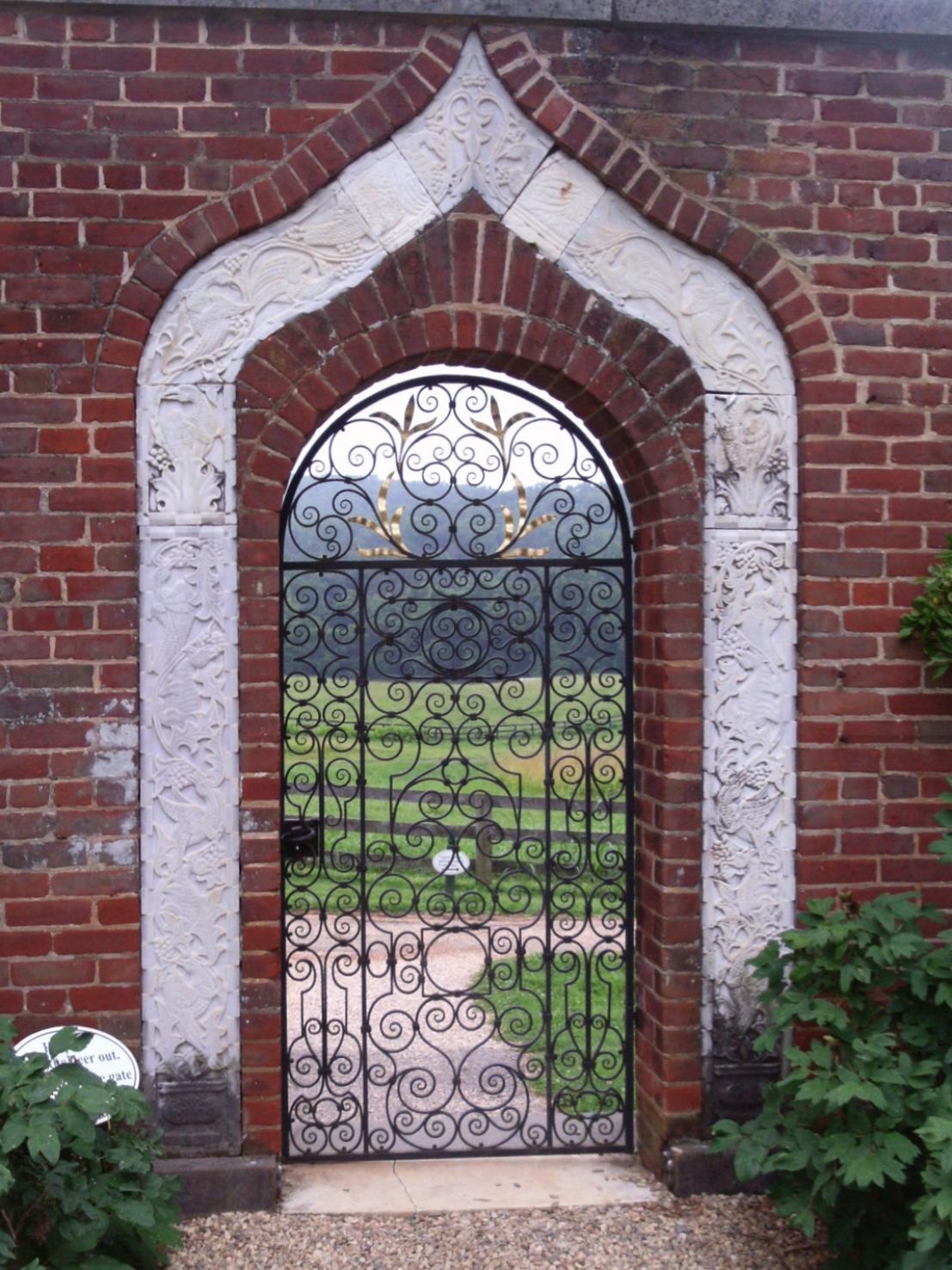 Annie duPont garden
