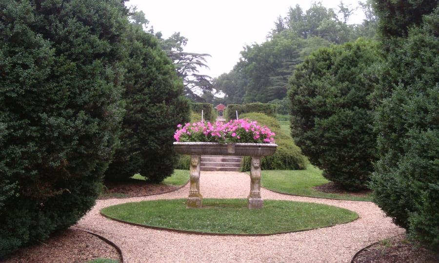 Annie du Pont garden