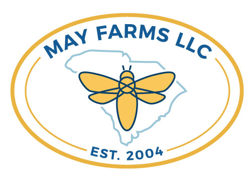 CLICK FOR MORE / SOCIAL STYLATE / MAY FARMS, LLC LOGO + BRANDING