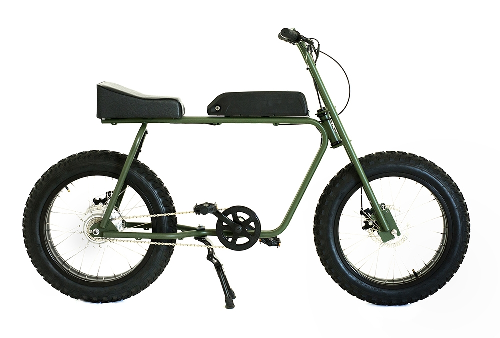 The Scout - $1,800 (taking pre-orders now)500 watt motor that can travel 20 miles per charge.Top speed of 25 MPH.  No license required.