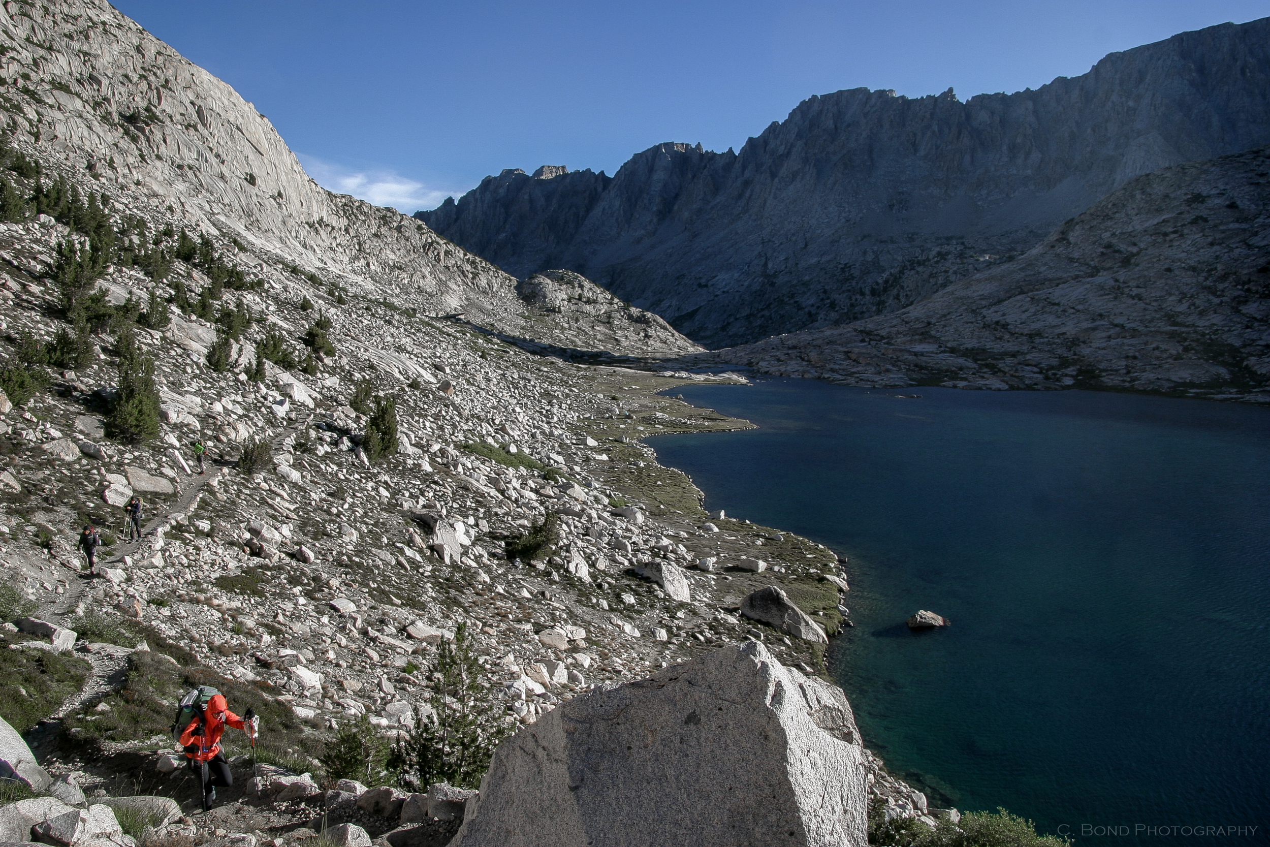 Day 16, Thursday 8/14: Brisk Climb From Sapphire Lake