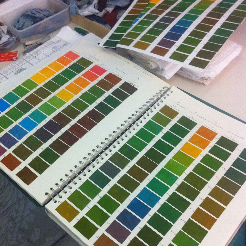 Dye book