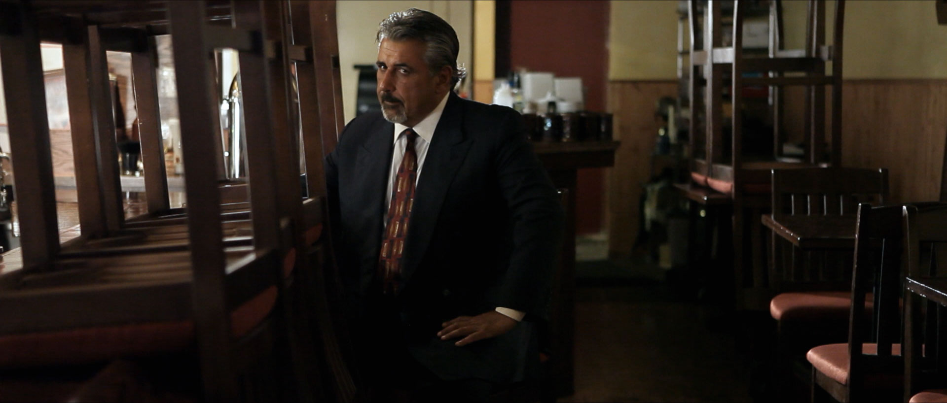 """Frank Longo as """"The Rival Mobster"""""""