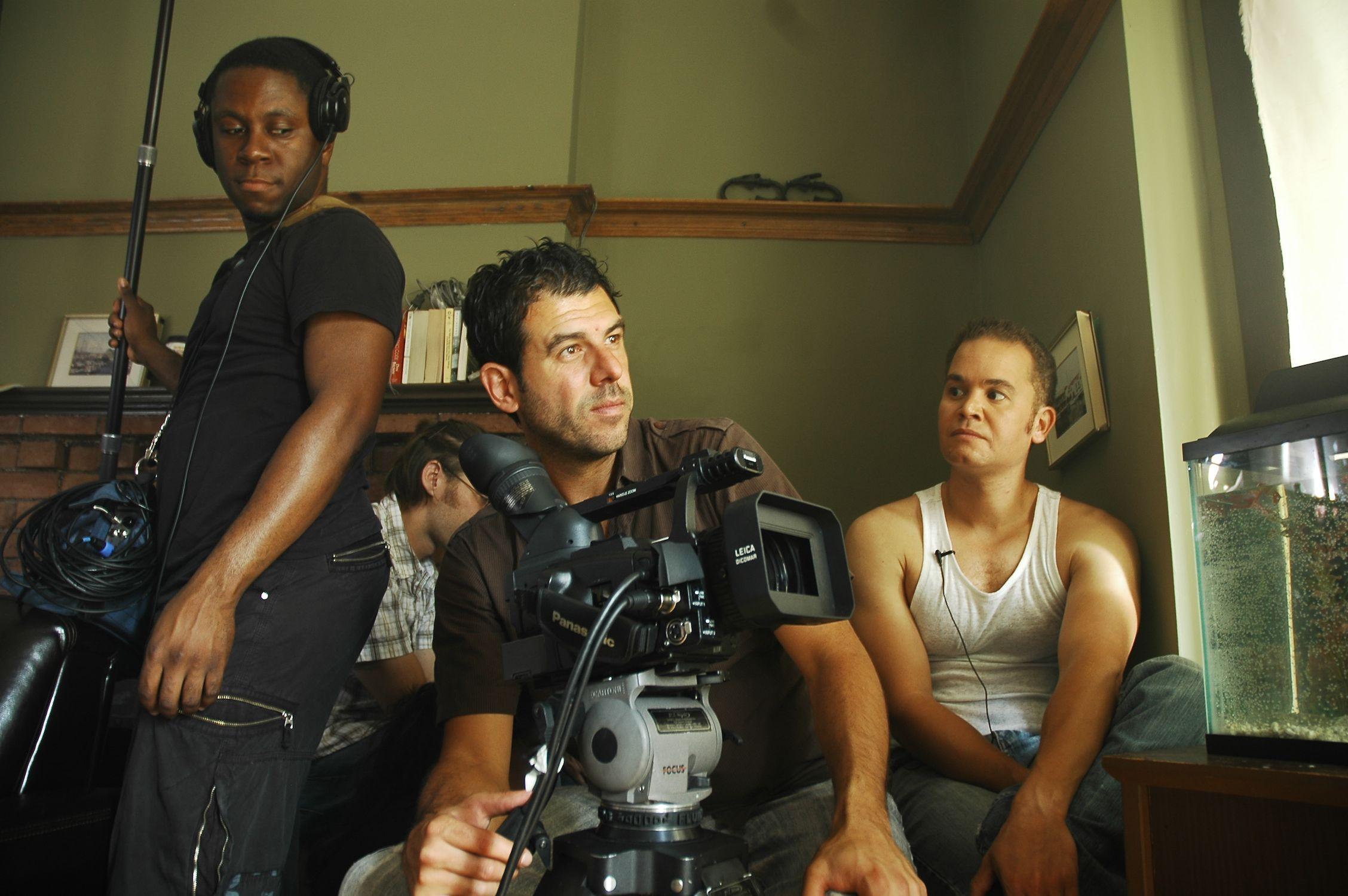 Sound Mixer John Mitchell, Cinematographer Alex Dacev & Anthony Greene