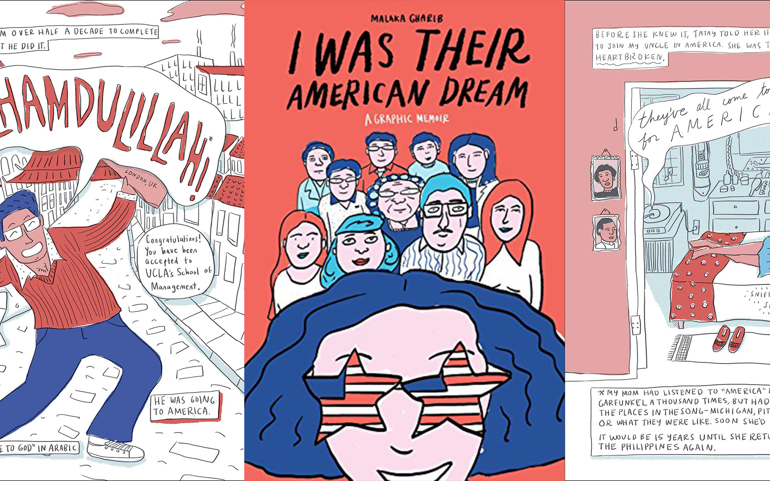 Art Direction and coloring for the graphic memoir  IWTAD published by Clarkson Potter.