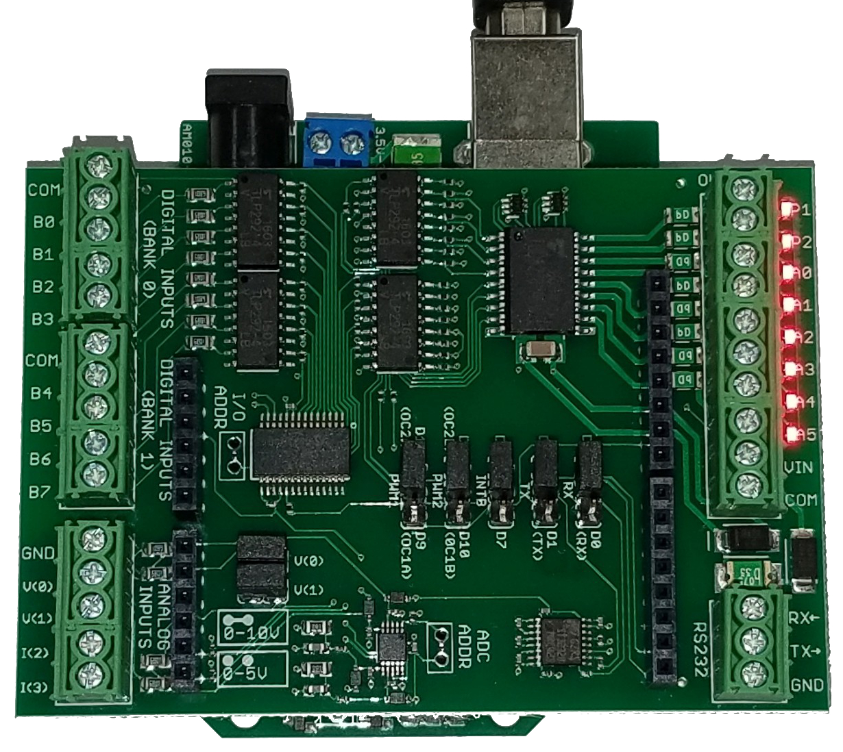 24V Industrial I/O Shield