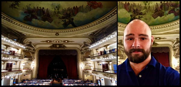 "Me at  El Ateneo Grand Splendid  in Buenos Aires (2017). Ranked by  The Guardian  as ""The Most Beautiful Bookstore In The World"". For more pictures of my time in Argentina, visit  Photos ."