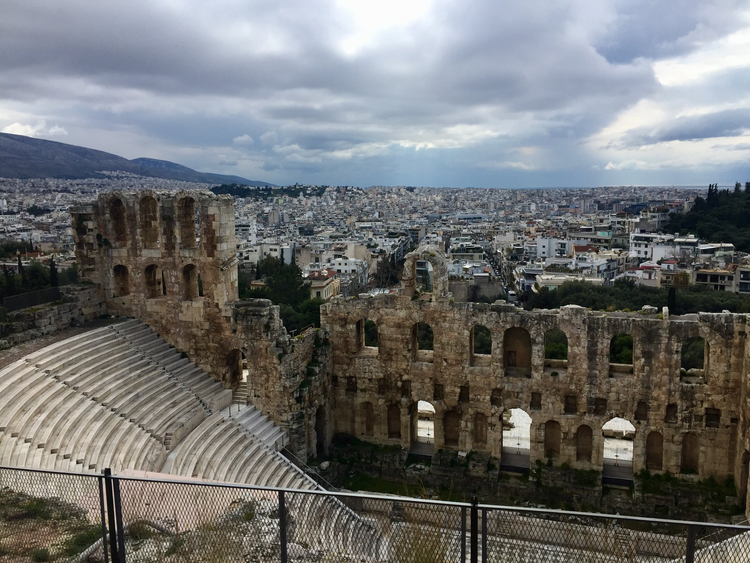 Theater of Dionysus (sixth century B.C.E.)
