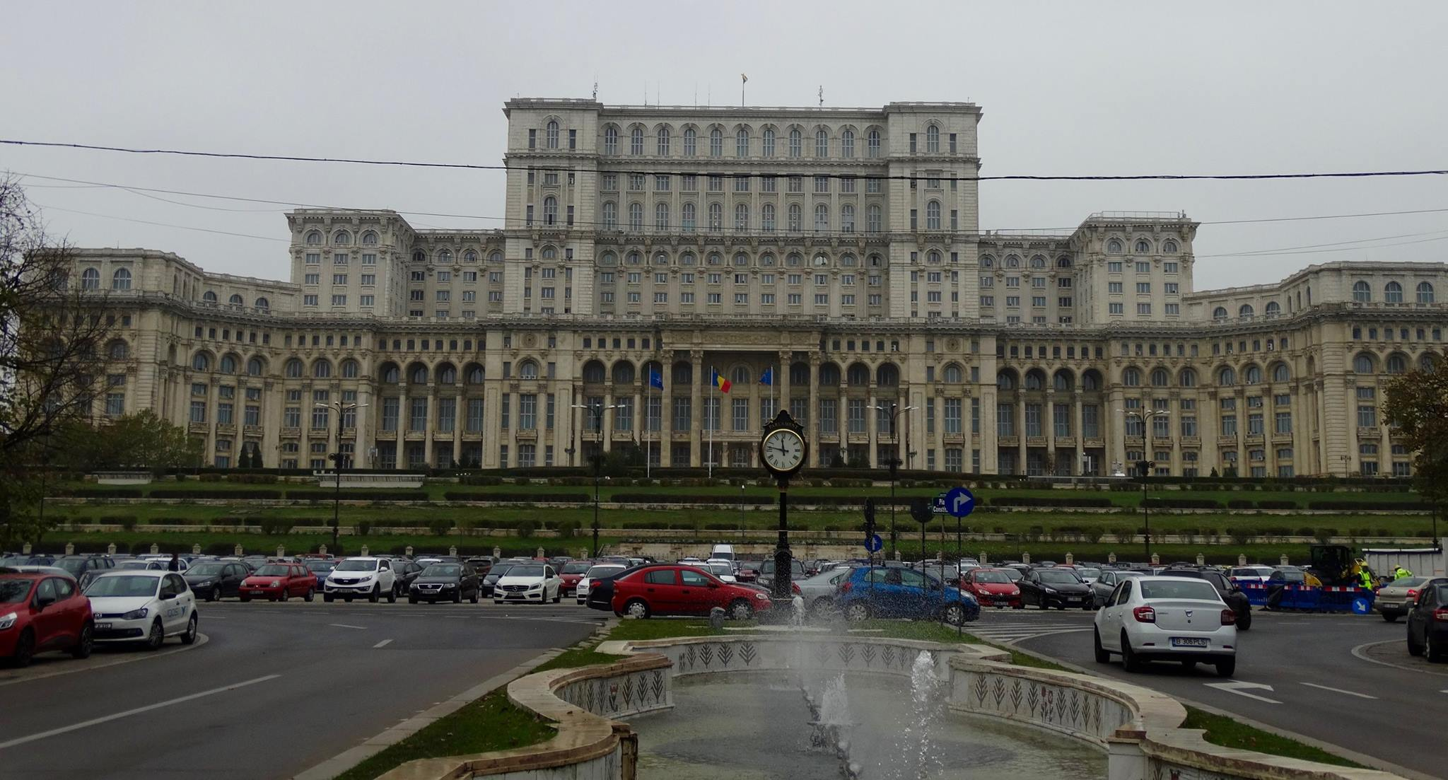 """The """"People's Palace"""", or Palace of the Parliament, is the world's second largest administrative building. The first is the Pentagon."""