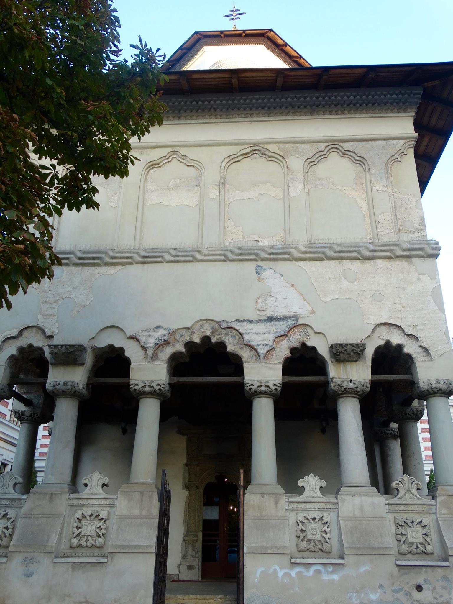 Colțea Church, built in 1698.