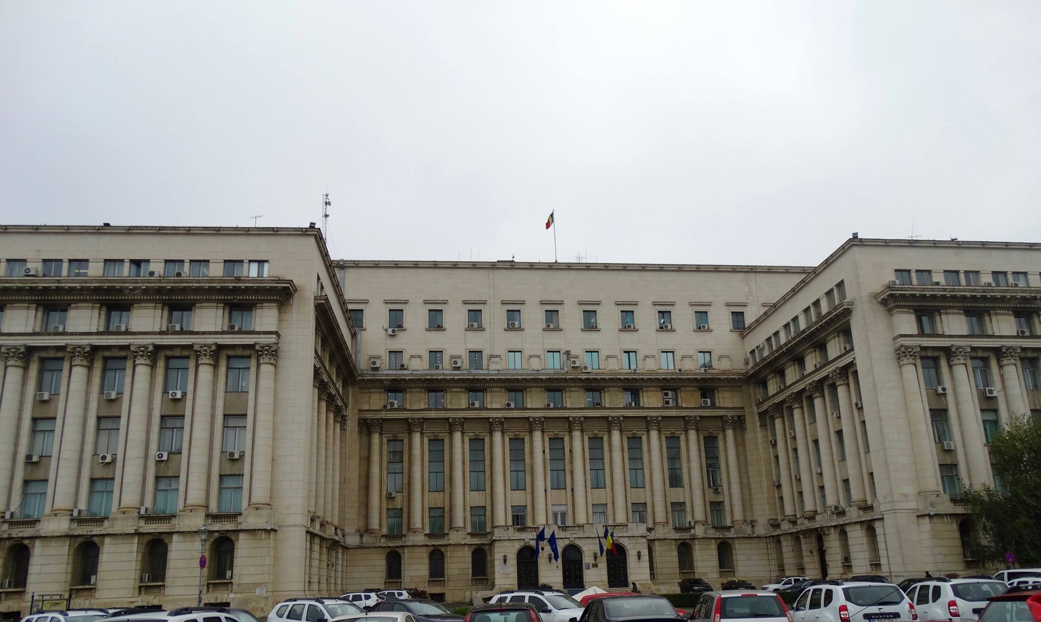 """From the Central Committee Building, the dictator Nicolae Ceauşescu attempted to give a speech on the balcony that would calm the angry crowd, reminding them of all the """"wonderful achievements"""" of the communist government. But he had completely misjudged how angry the Romanian people really were."""