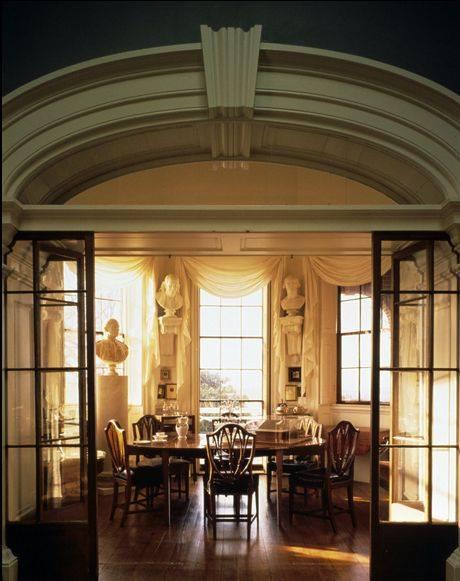 Jefferson's tea room.