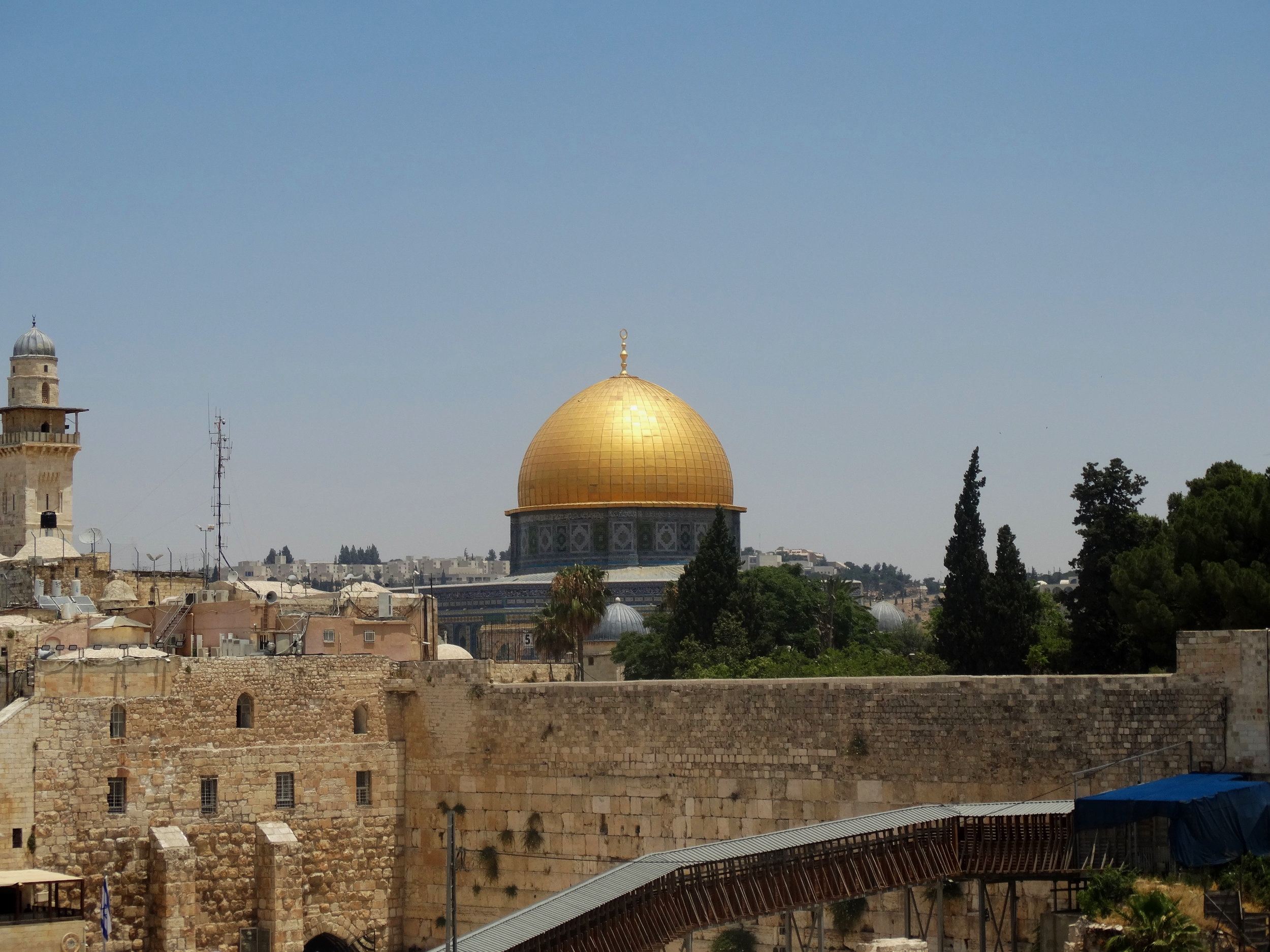 Dome of the Rock (built in 691 C.E.)