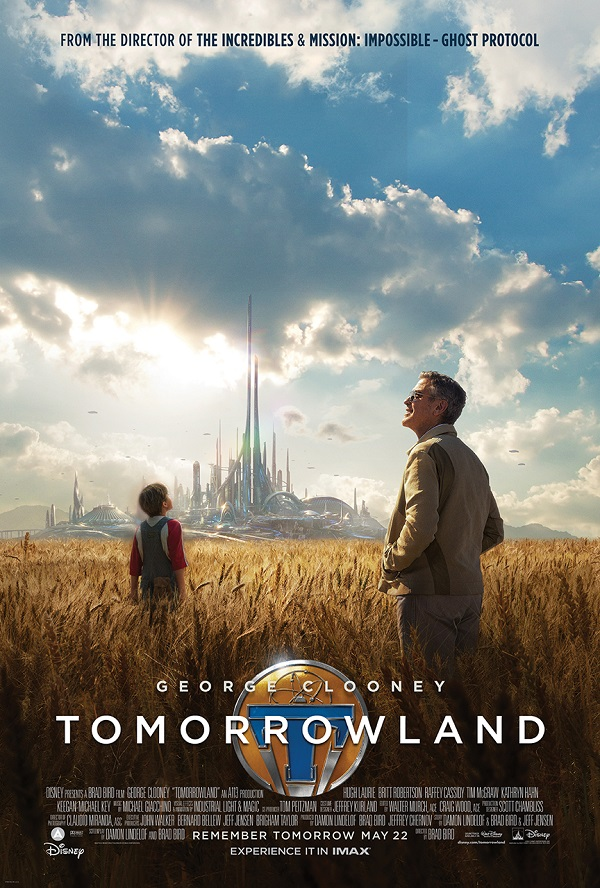 "New poster. ""Tomorrowland"". George Cloooney's character as a young boy and man. March 6, 2015  The new trailer for Tomorrowland was  due to be posted  on Monday morning, but Russia seems to be on its own schedule. A Russian-language version of the 2 minute, 22 second trailer has been  posted .  Here is our shot-by-shot analysis of the new trailers content, considering what we've learned from  The Optimist  Alternate Reality Game and the film's various  convention   appearances , and the ""Before Tomorrowland""  prequel novel ."