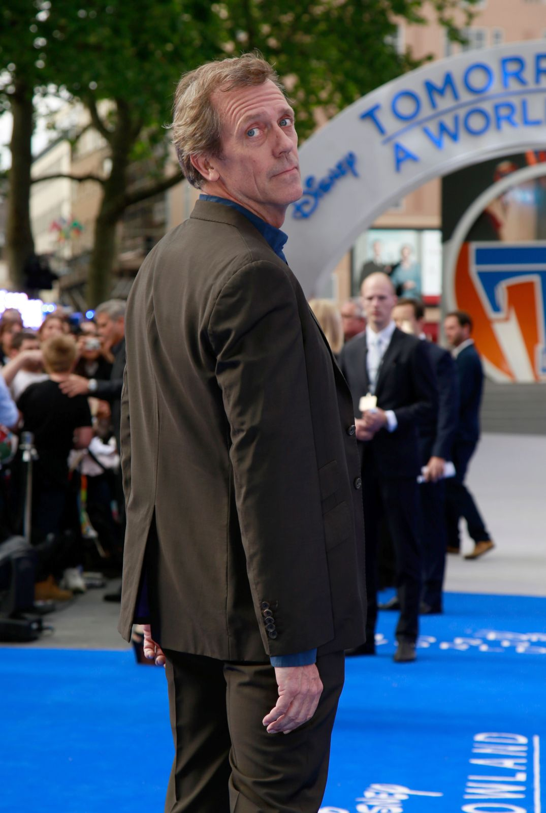 Hugh Laurie 15- Tomorrowland Premiere London 2015.jpg