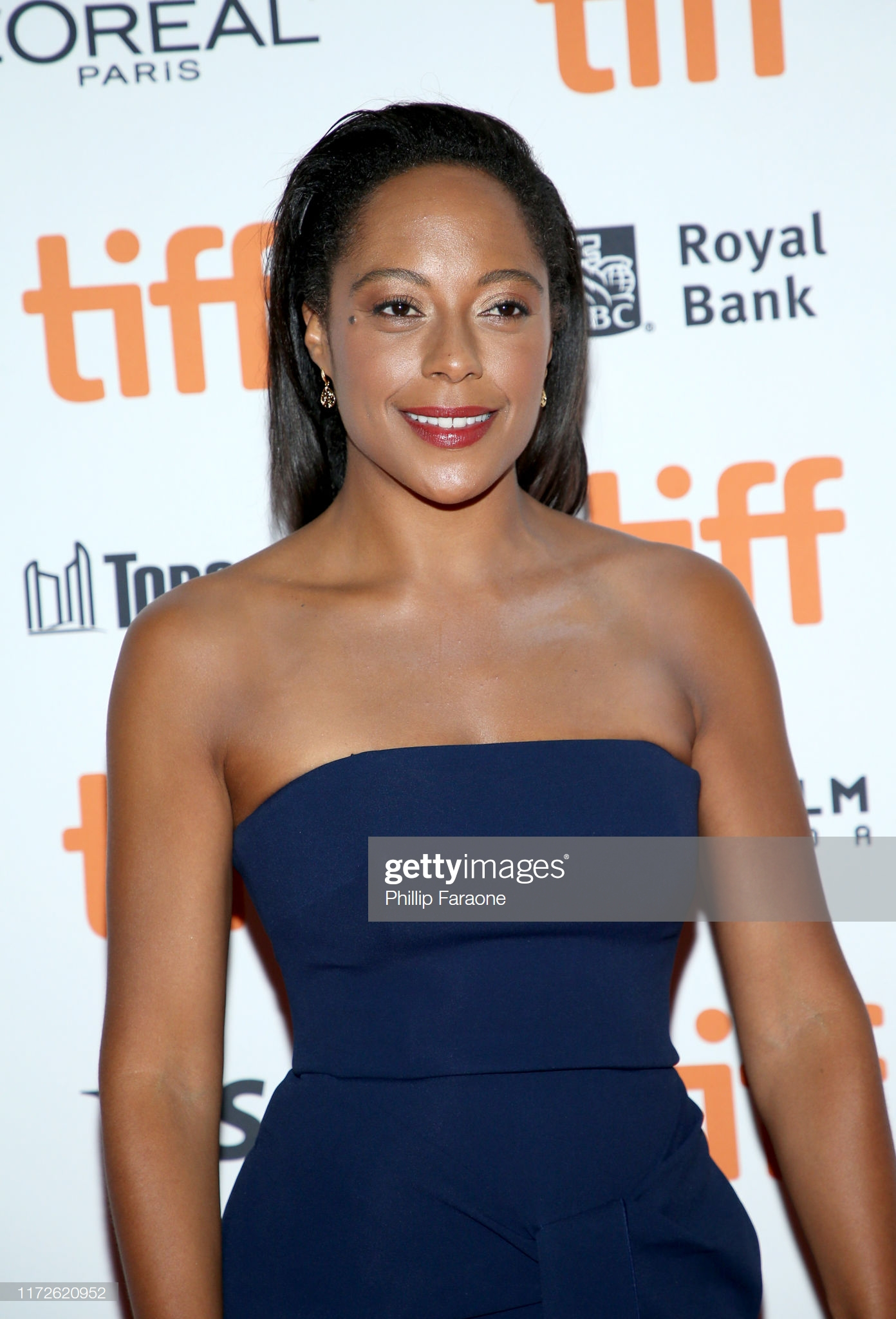 """TORONTO, ONTARIO - SEPTEMBER 05: Rosalind Eleazar attends """"The Personal History Of David Copperfield"""" premiere during the 2019 Toronto International Film Festival at Princess of Wales Theatre on September 05, 2019 in Toronto, Canada. (Photo by Phillip Faraone/Getty Images)"""