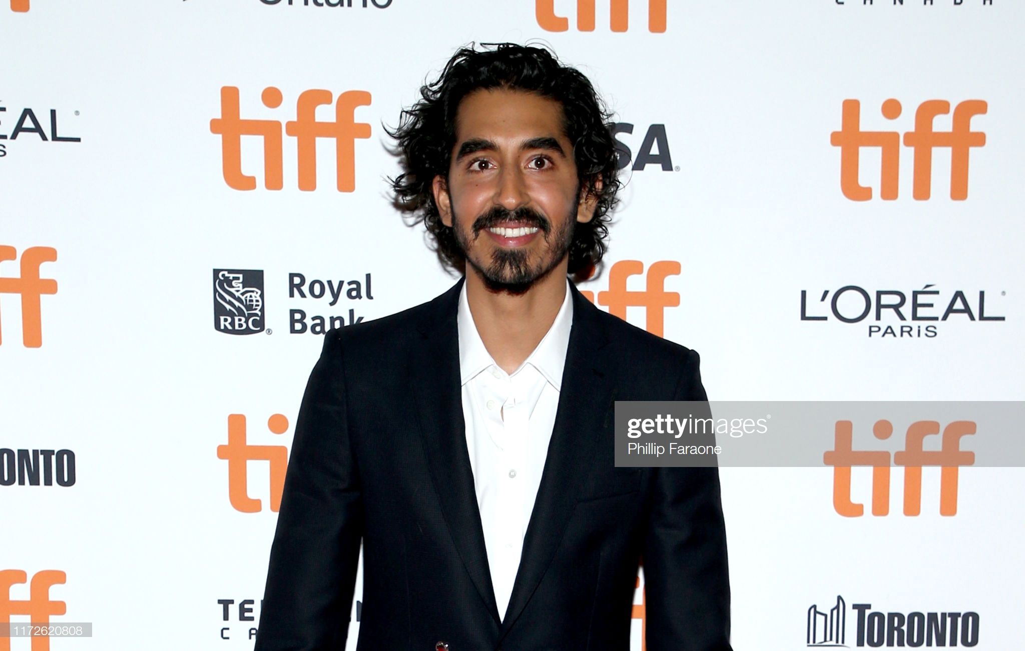 """TORONTO, ONTARIO - SEPTEMBER 05: Dev Patel attends """"The Personal History Of David Copperfield"""" premiere during the 2019 Toronto International Film Festival at Princess of Wales Theatre on September 05, 2019 in Toronto, Canada. (Photo by Phillip Faraone/Getty Images)"""
