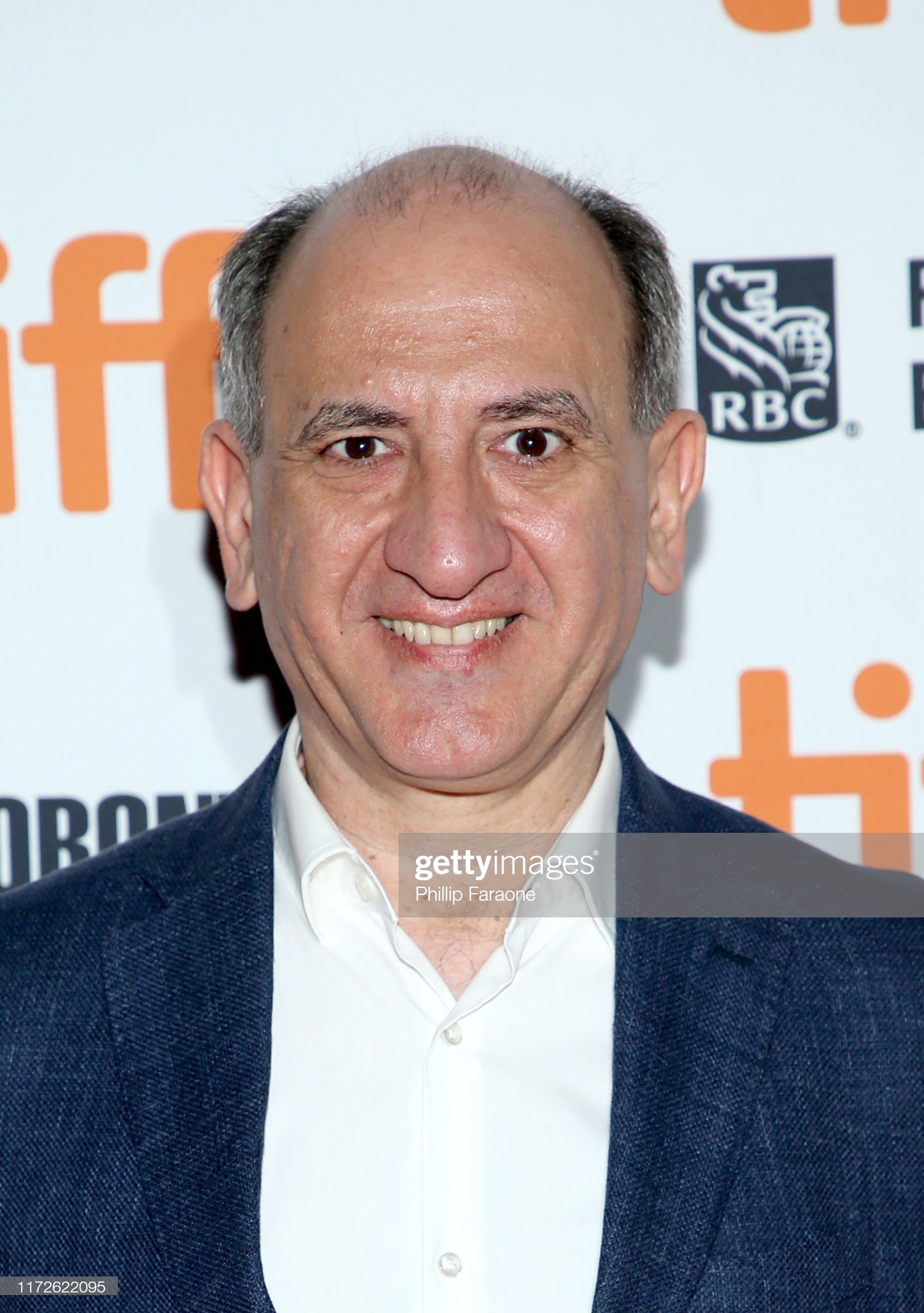 """TORONTO, ONTARIO - SEPTEMBER 05: Armando Iannucci attends """"The Personal History Of David Copperfield"""" premiere during the 2019 Toronto International Film Festival at Princess of Wales Theatre on September 05, 2019 in Toronto, Canada. (Photo by Phillip Faraone/Getty Images)"""