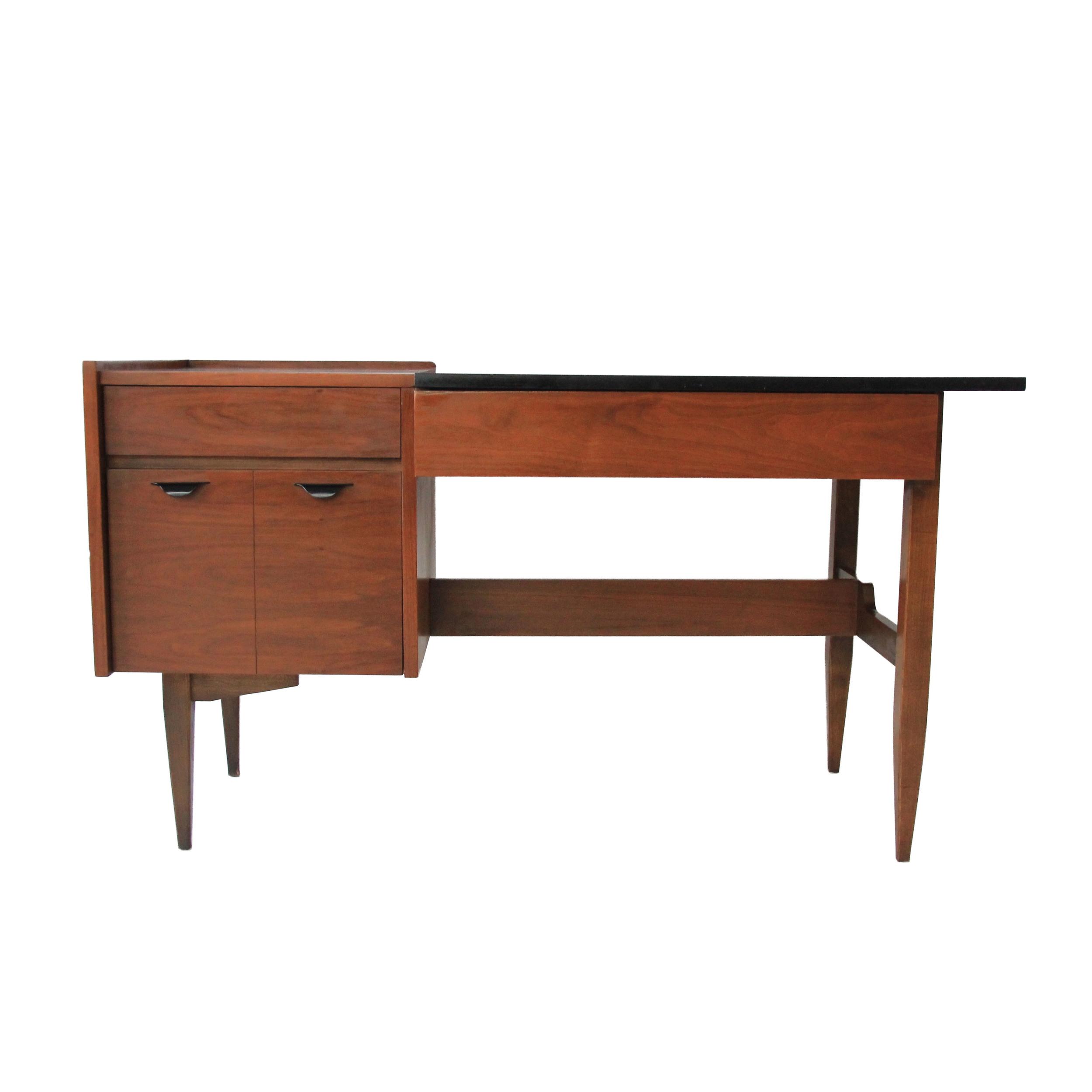 Vintage Mid Century Modern Floating Desk