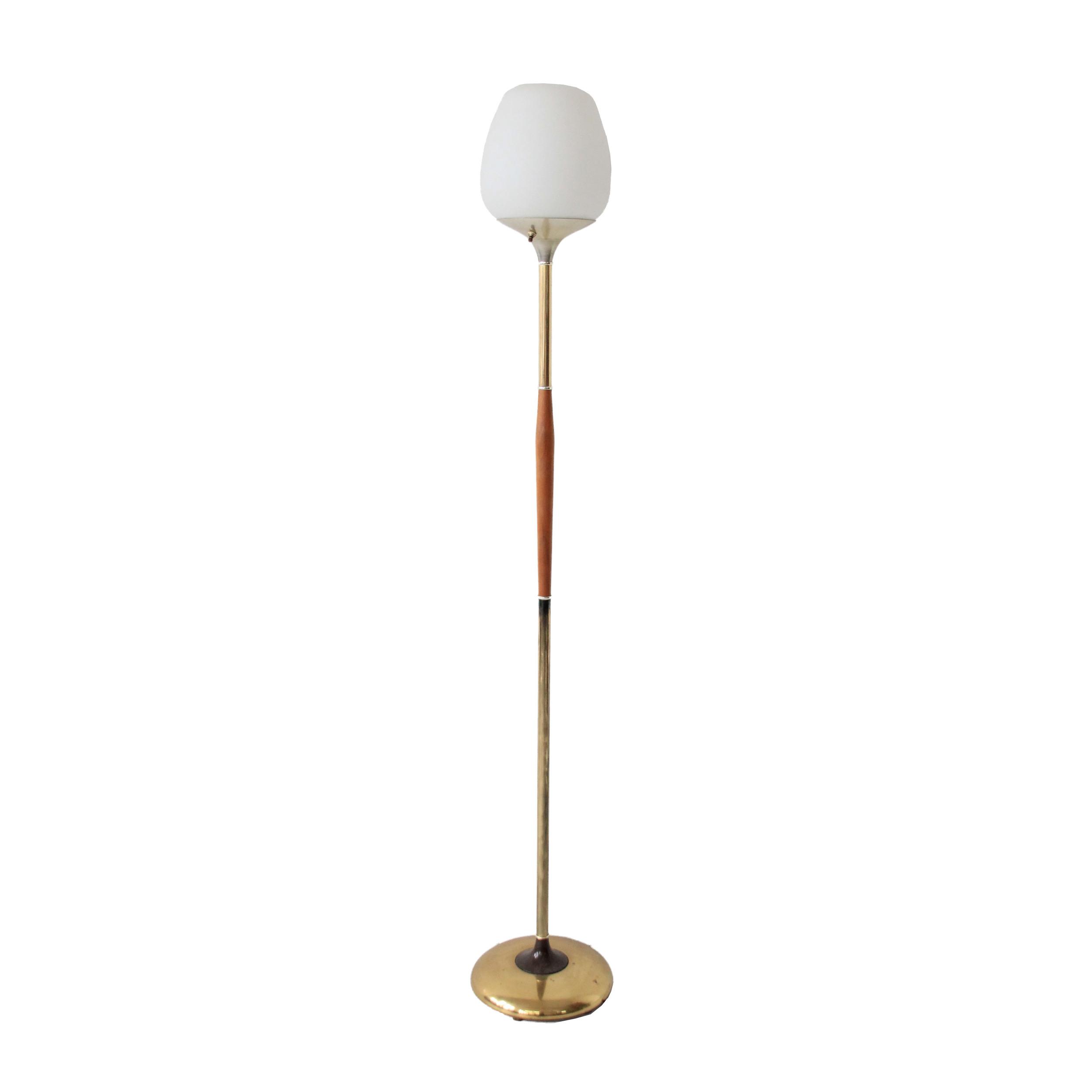 Vintage Mid Century Modern Floor Lamp