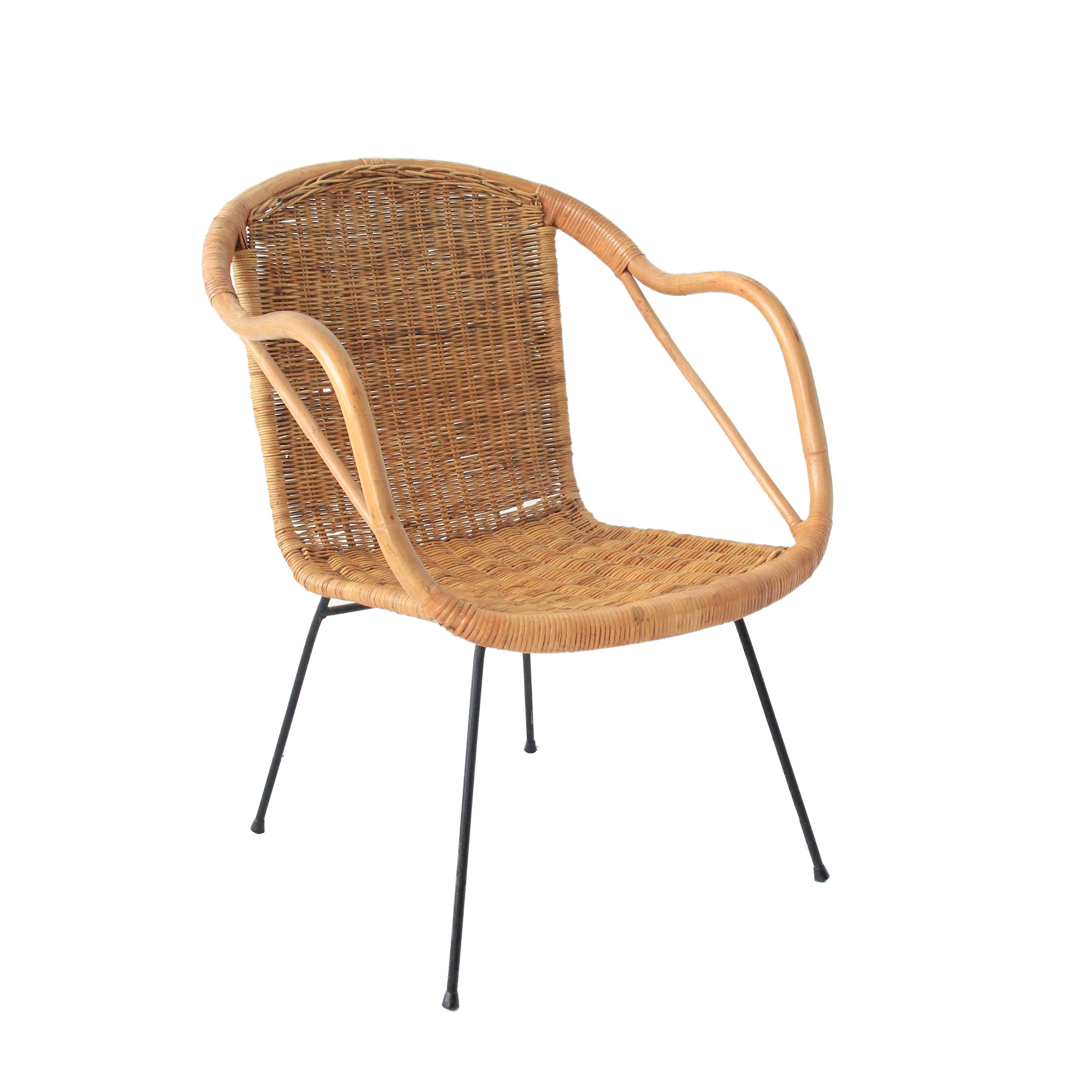 Vintage Mid Century Modern Umanoff Chair