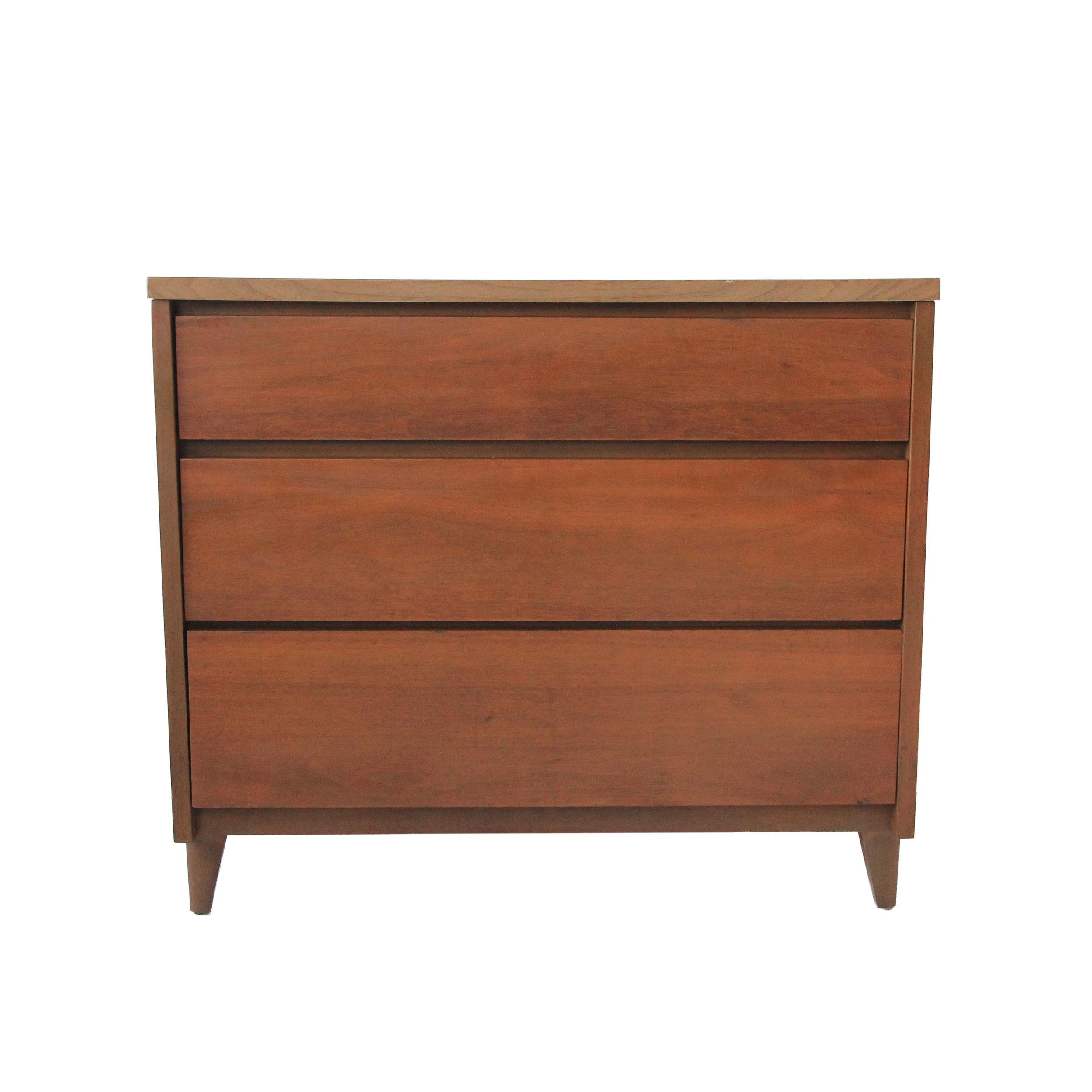 Vintage Mid Century Modern Stanley Dresser