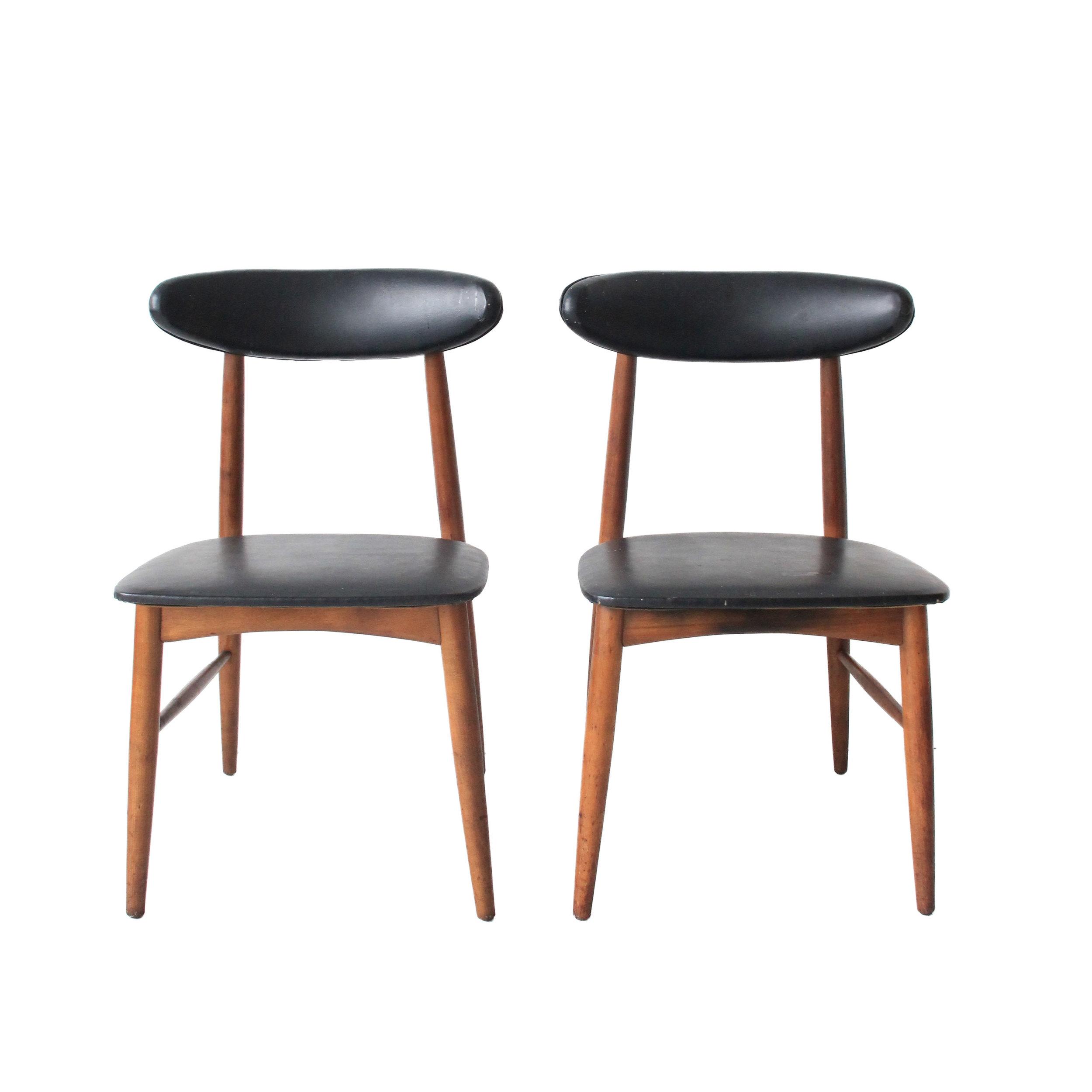 Vintage Mid Century Modern Desk Side Chair