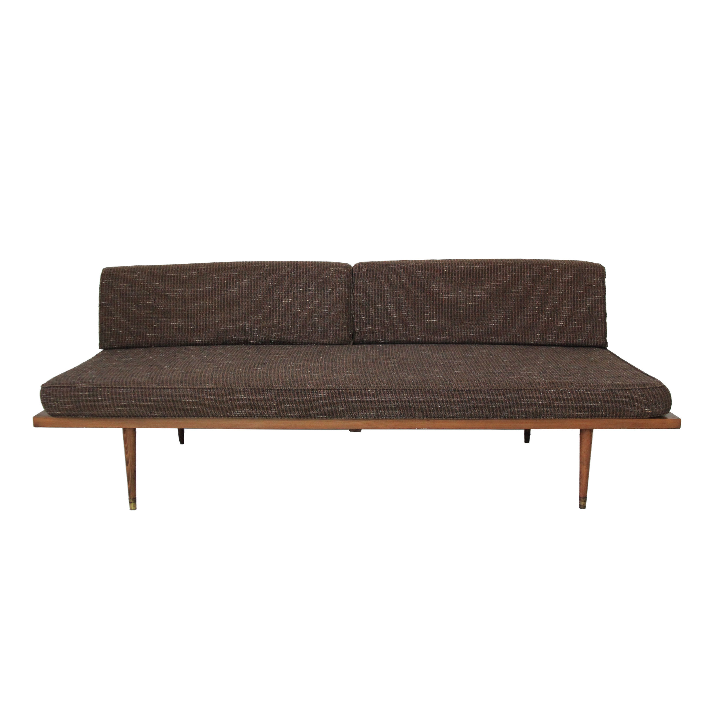 Vintage Mid Century Modern Daybed Sofa