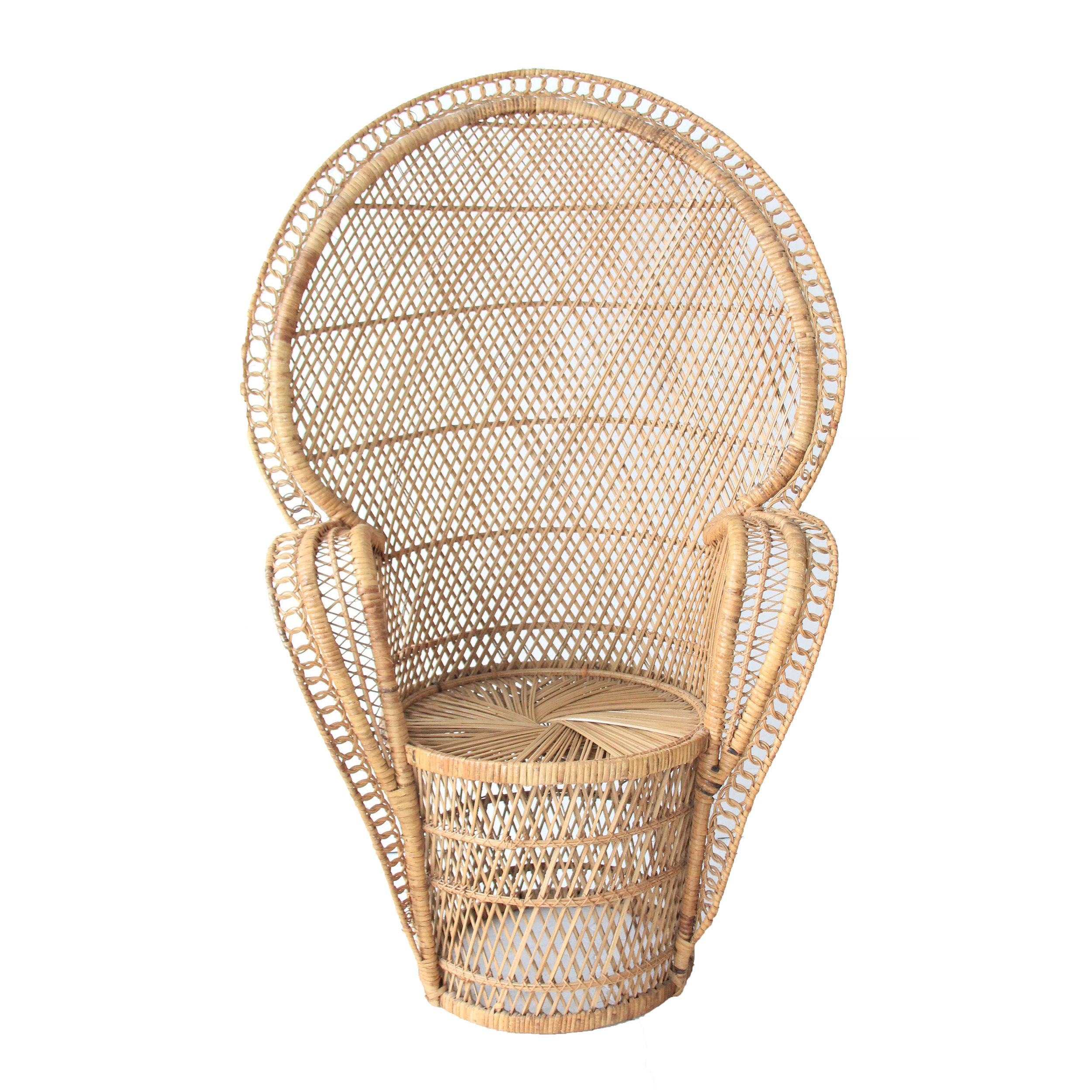 Vintage Fan Chair