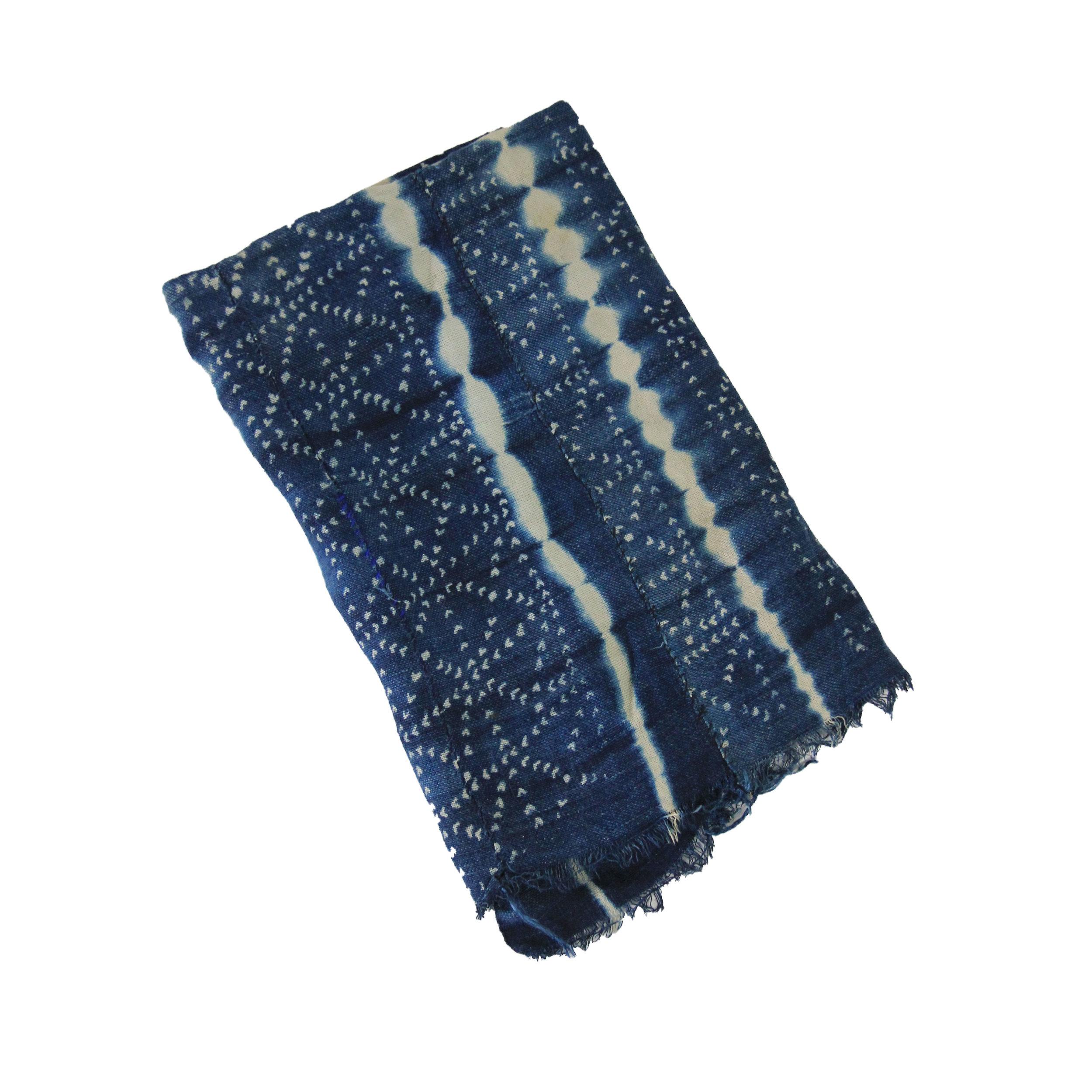 Vintage African Indigo Fabric