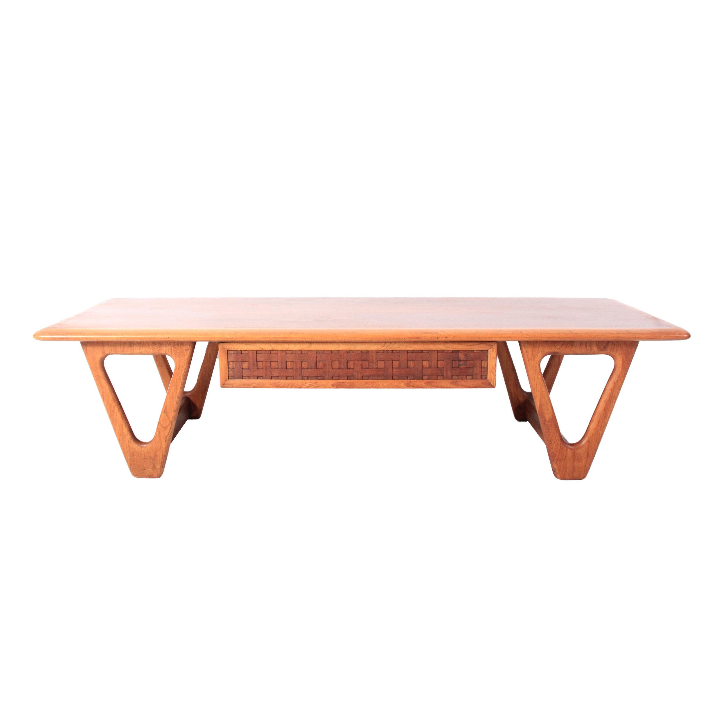 Vintage Mid Century Modern Lane Coffee Table
