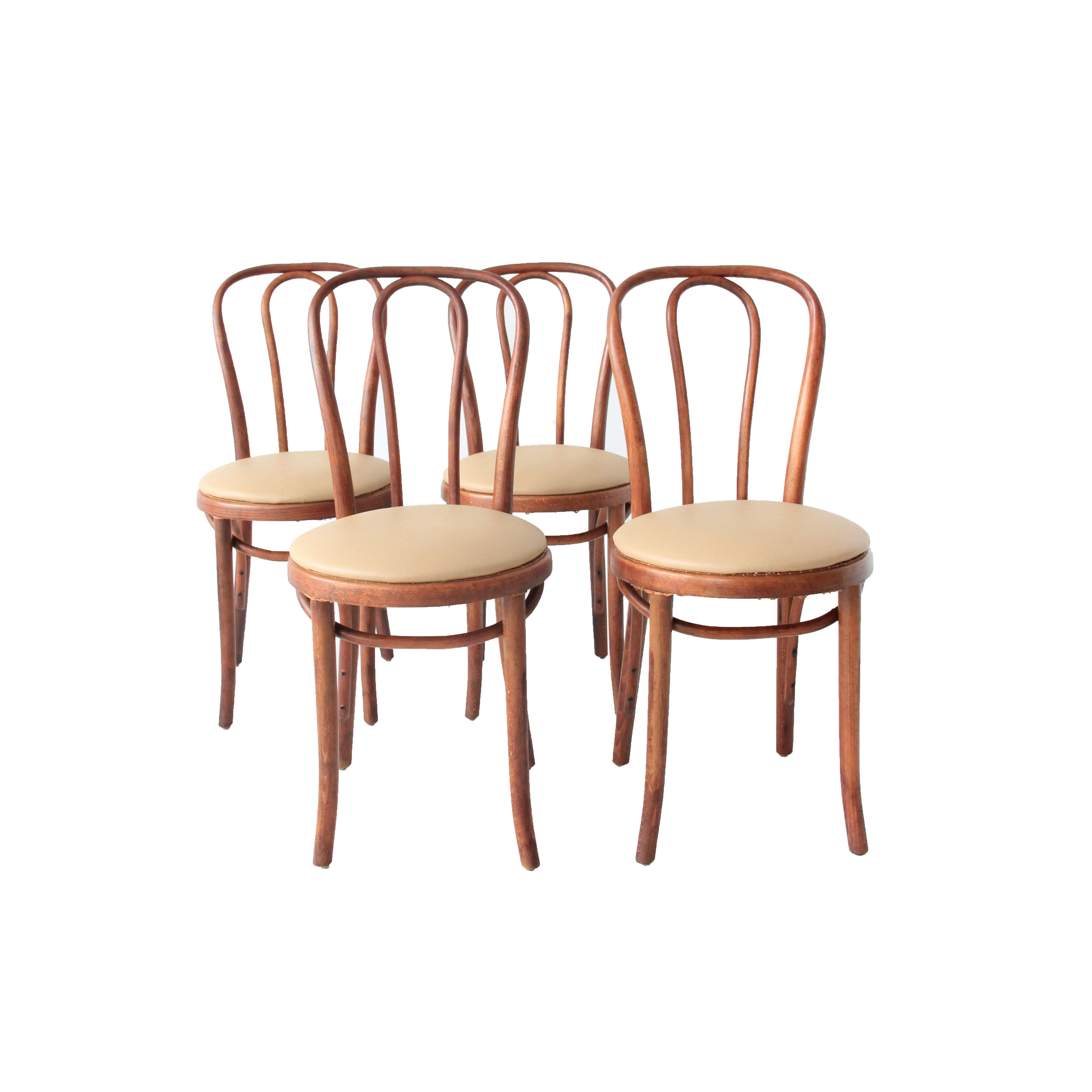 Vintage Thonet Dining Chairs