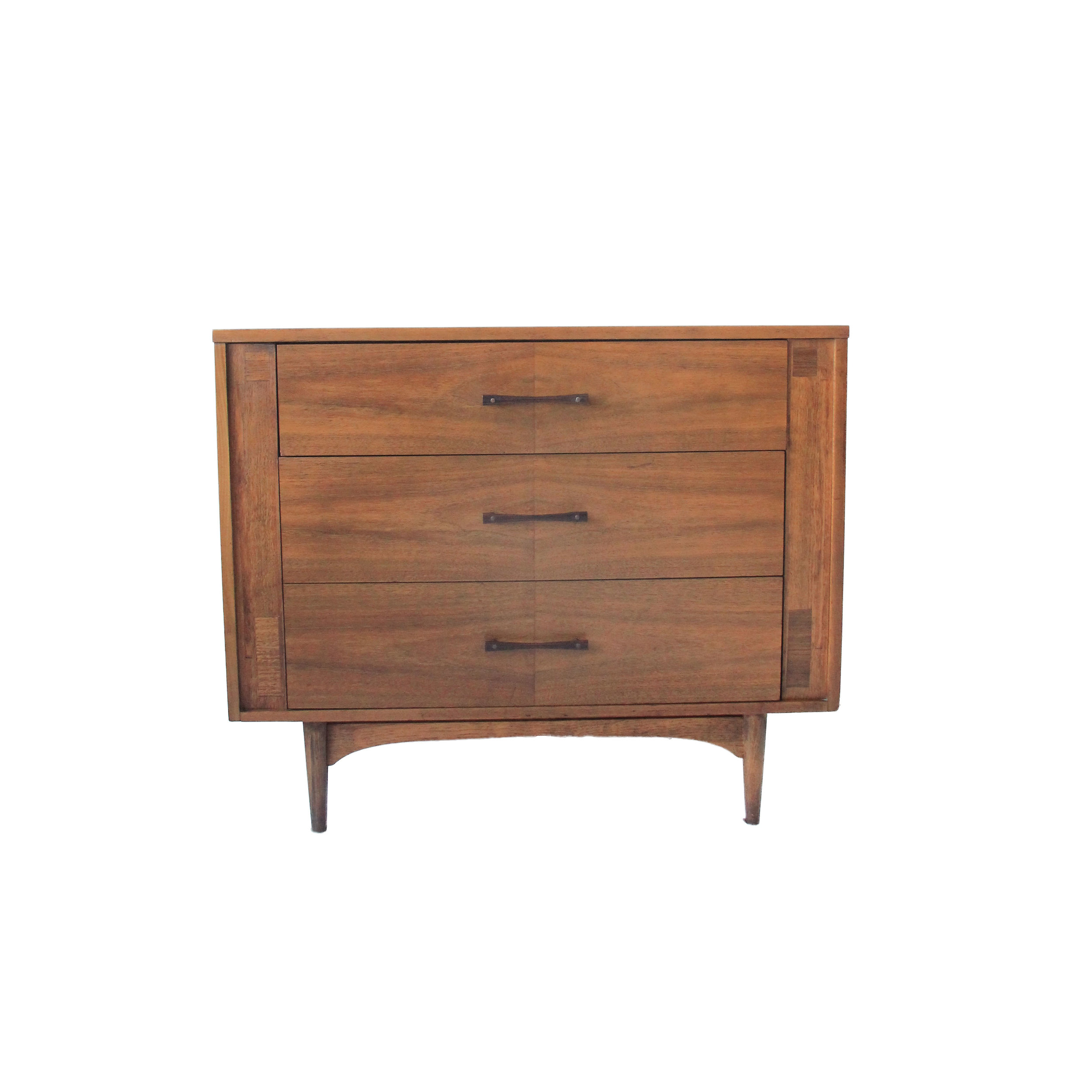 Vintage Mid Century Modern Kroehler 3 Drawer Dresser