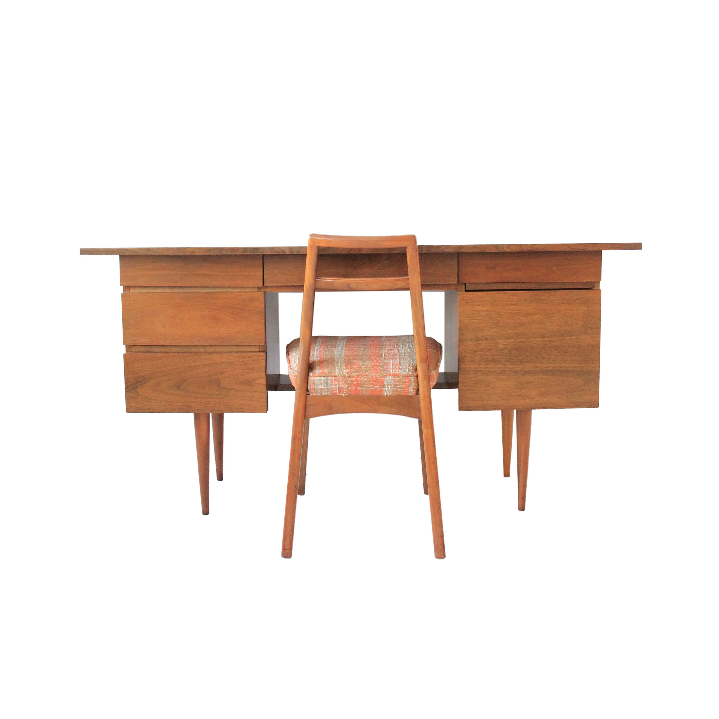 Vintage Mid Century Modern Desk By Mel Smilow