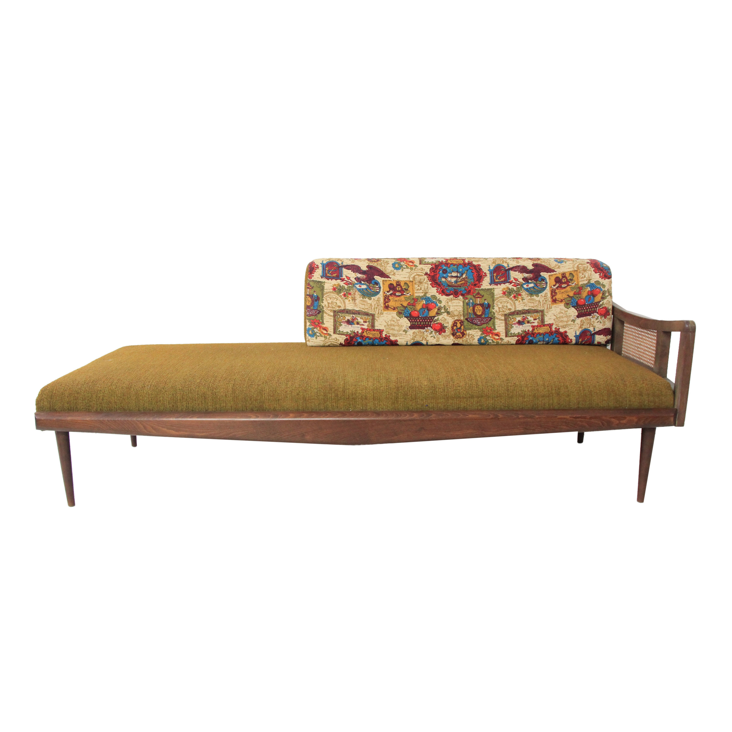 Vintage Mid Century Modern Chaise Lounge