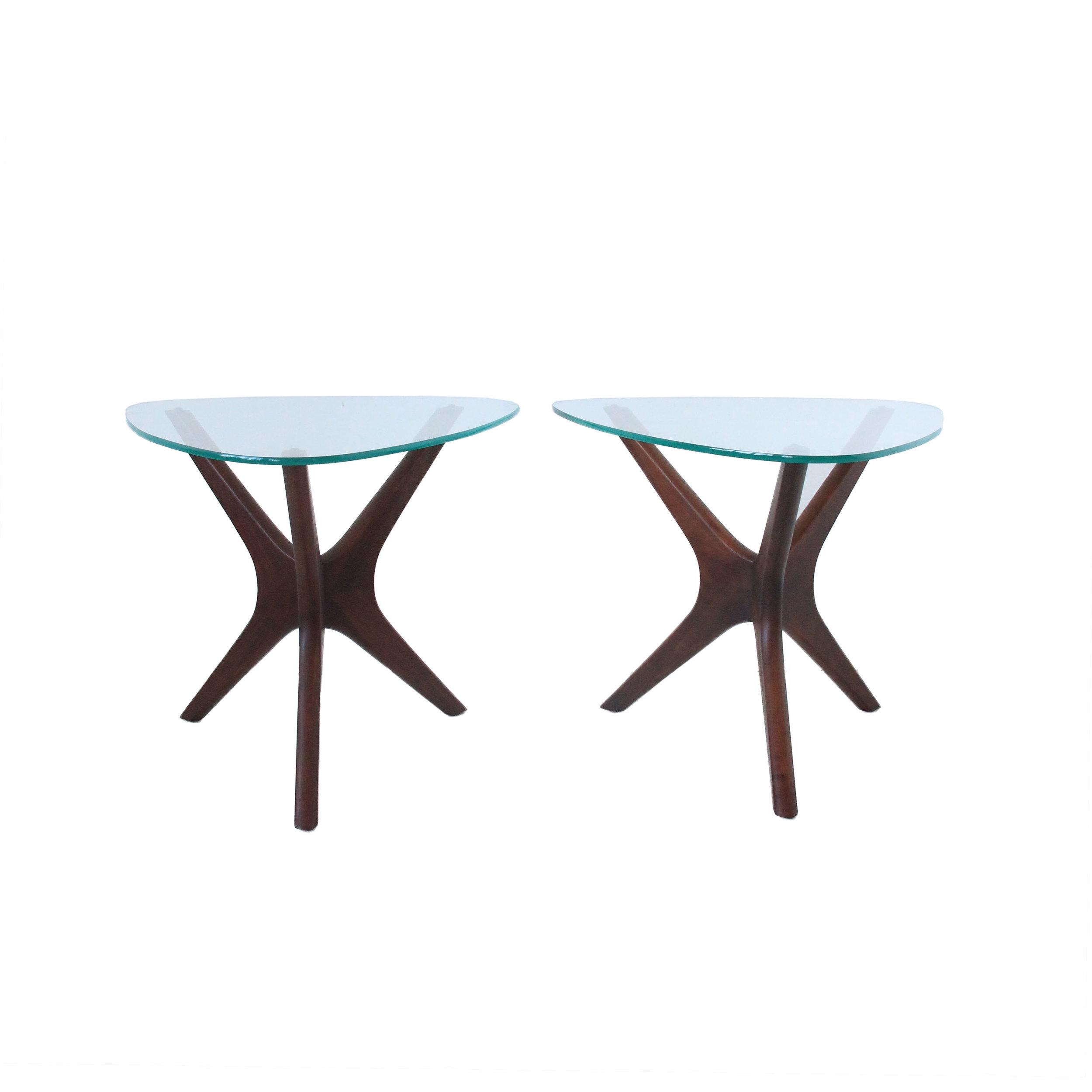 Vintage Mid Century Modern Jack's Side Tables