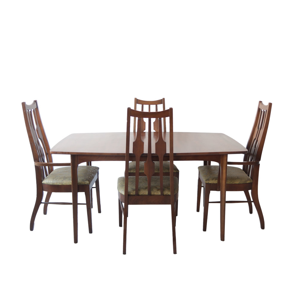 Products Vintage Mid Century Modern Dining Room Table And Chairs At 1st Sight