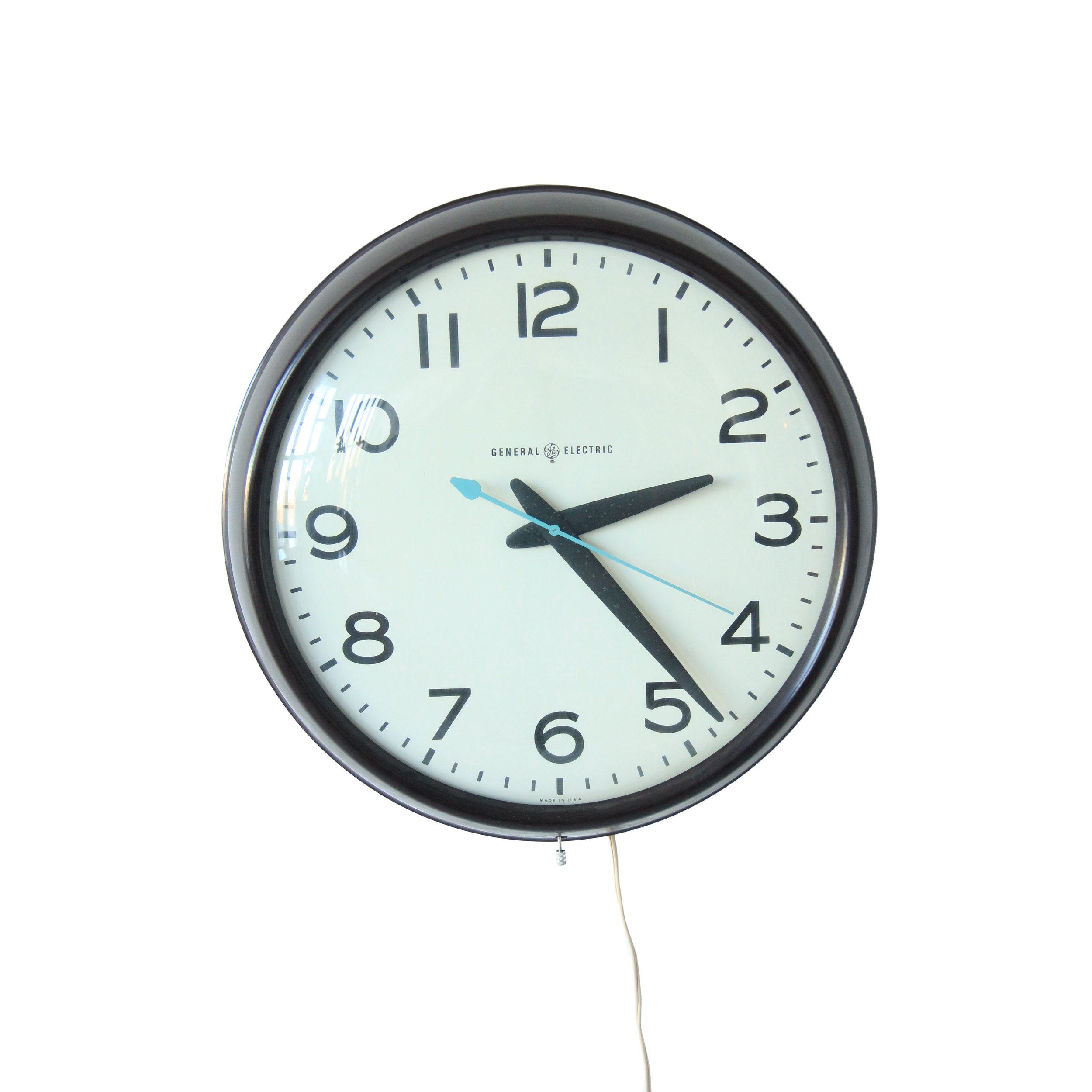 large vintage schoolhouse clock.jpg