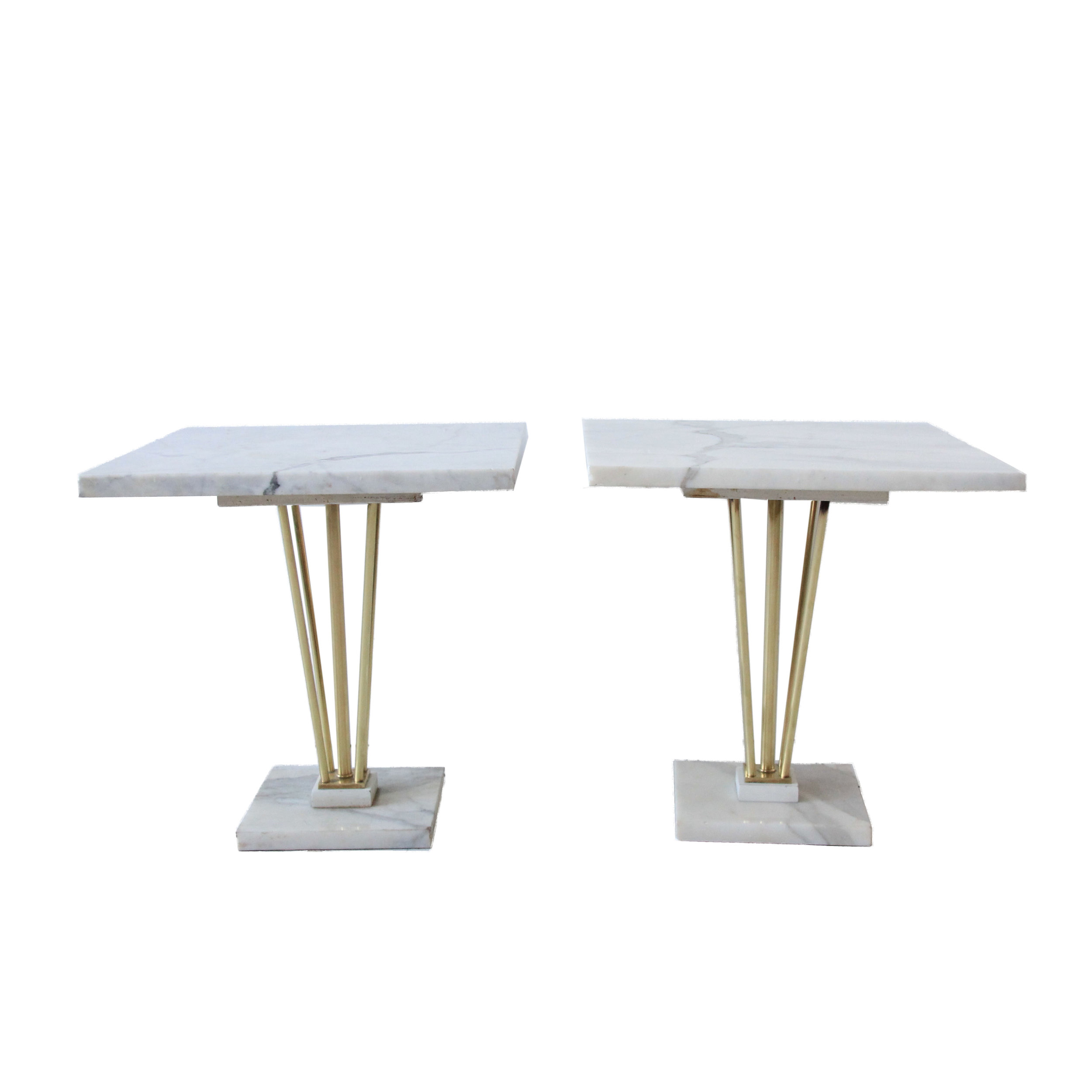 vintage marble and brass side tables.jpg