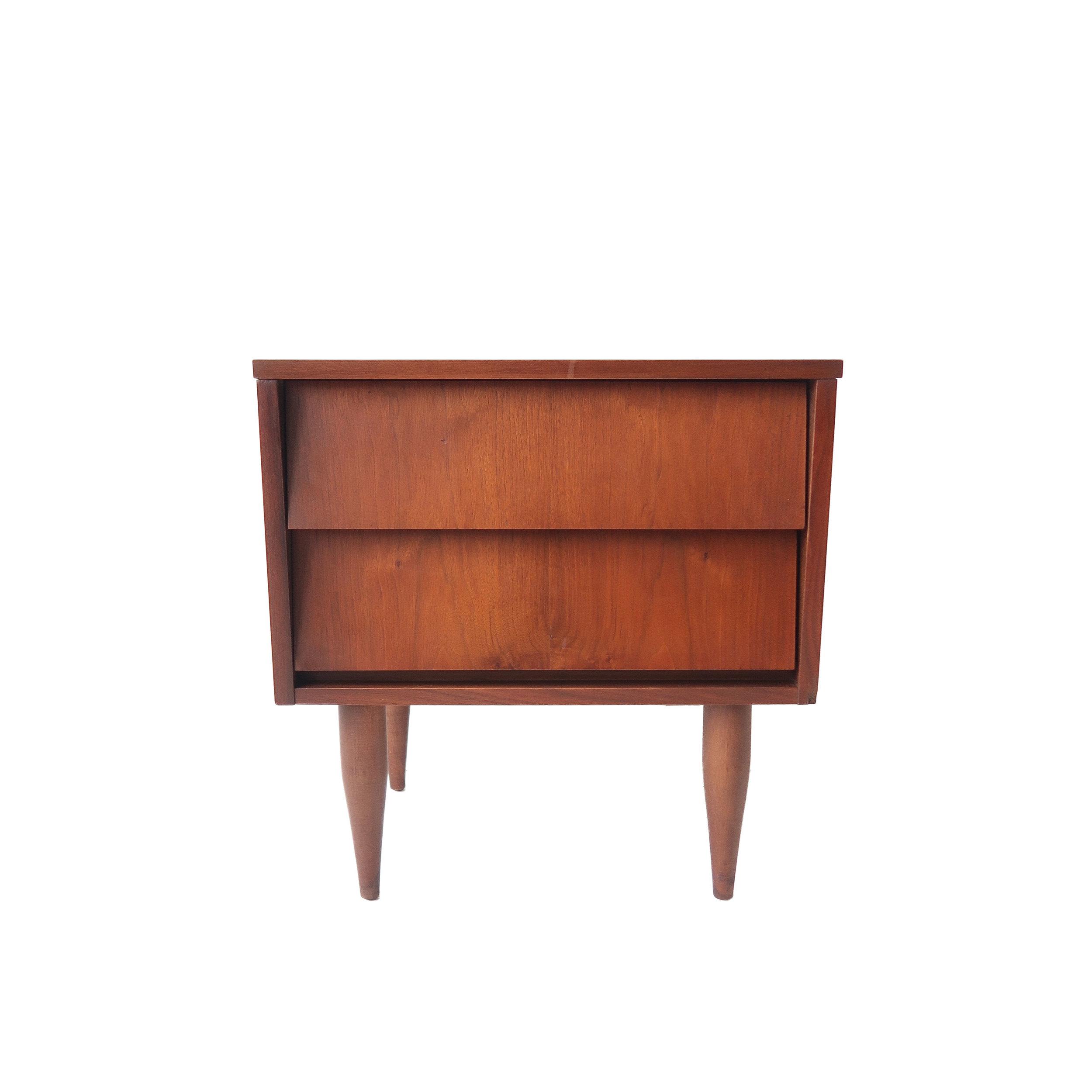 vintage mid century modern 2 drawer dresser.jpg