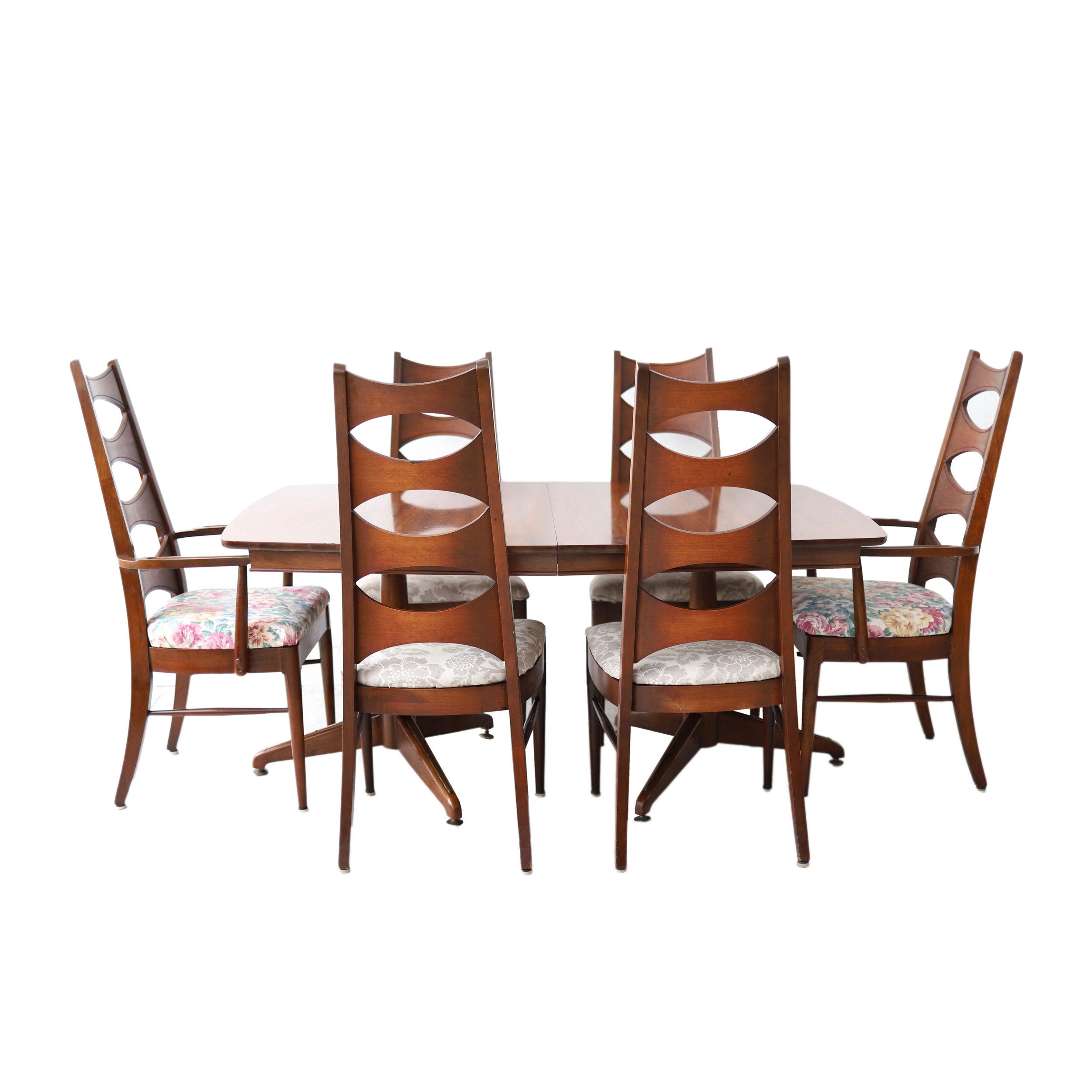 Vintage Mid Century Modern Dining Set