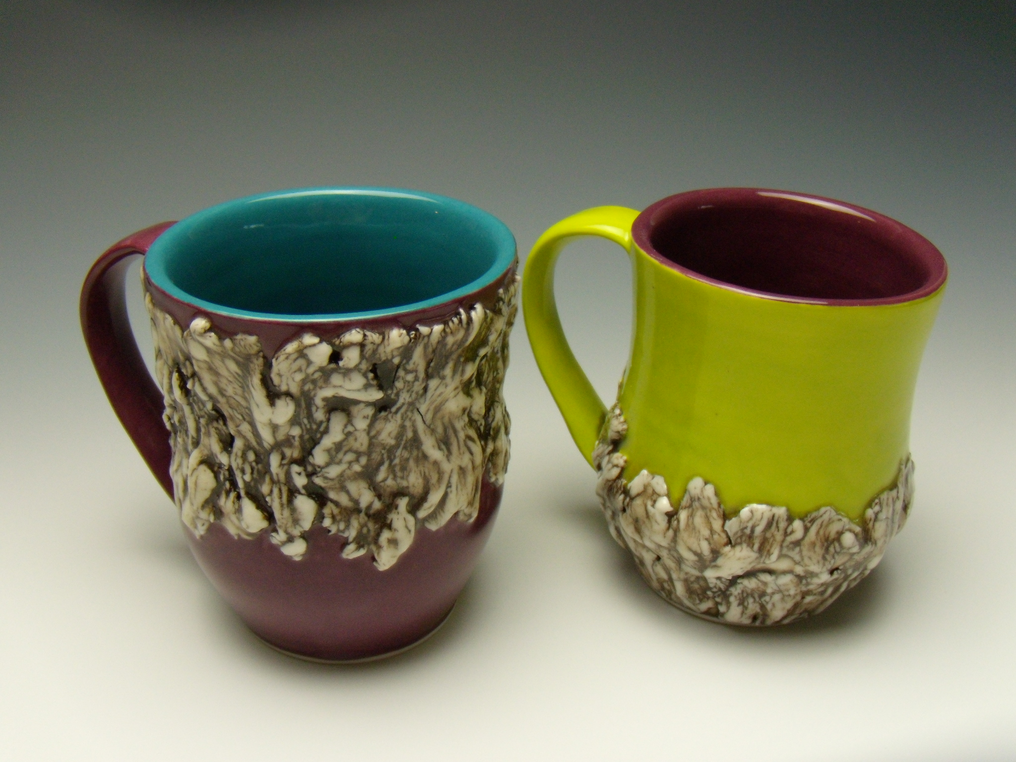 Dual Tone, Partial Bark Mugs