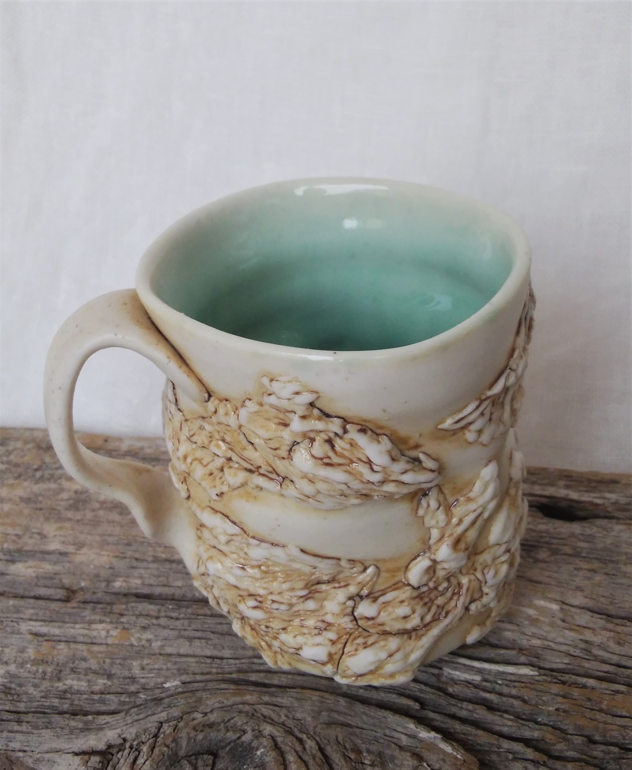 Sea glass - drift wood Mug - 2.jpg