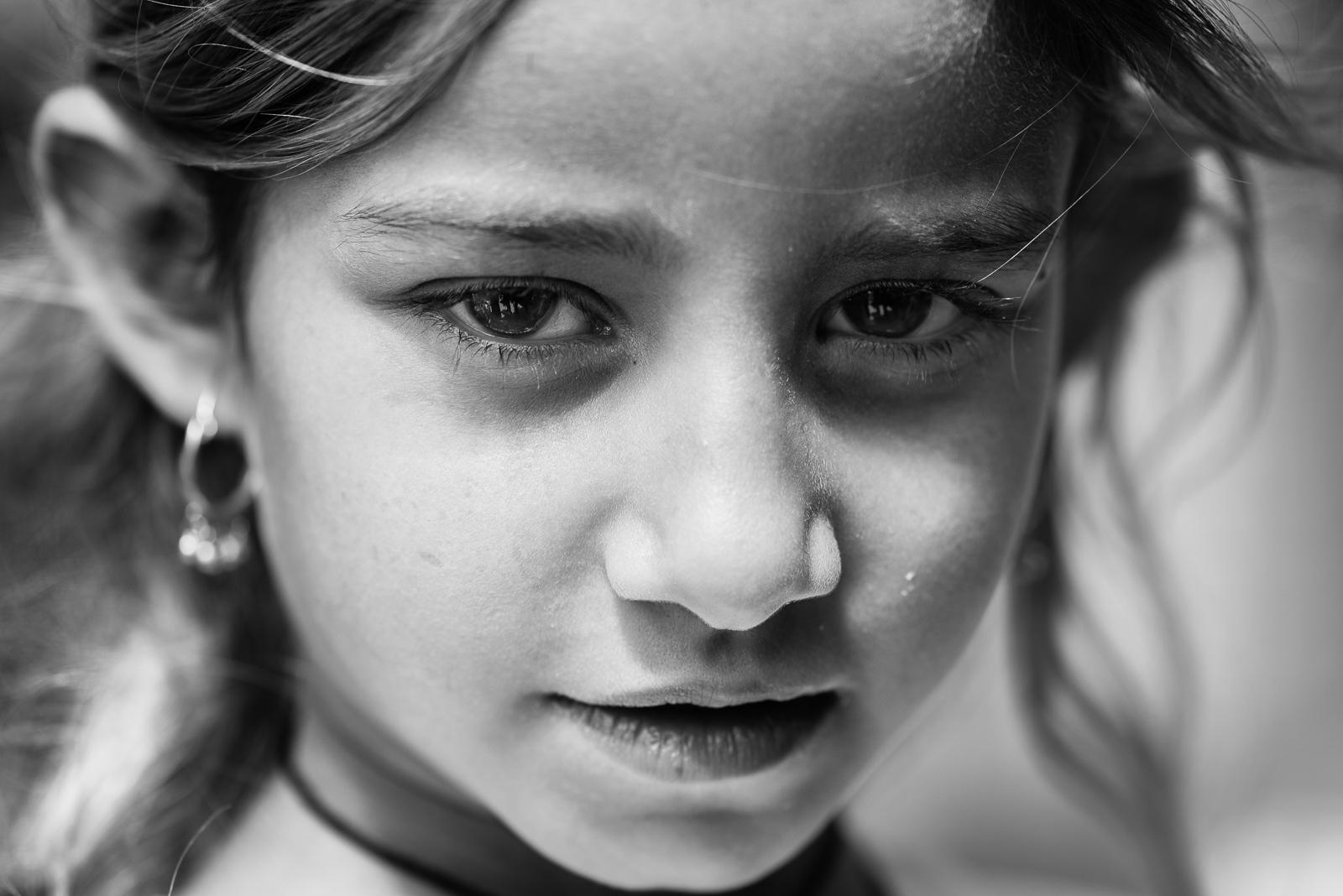 Little yazidi girl in Zakho