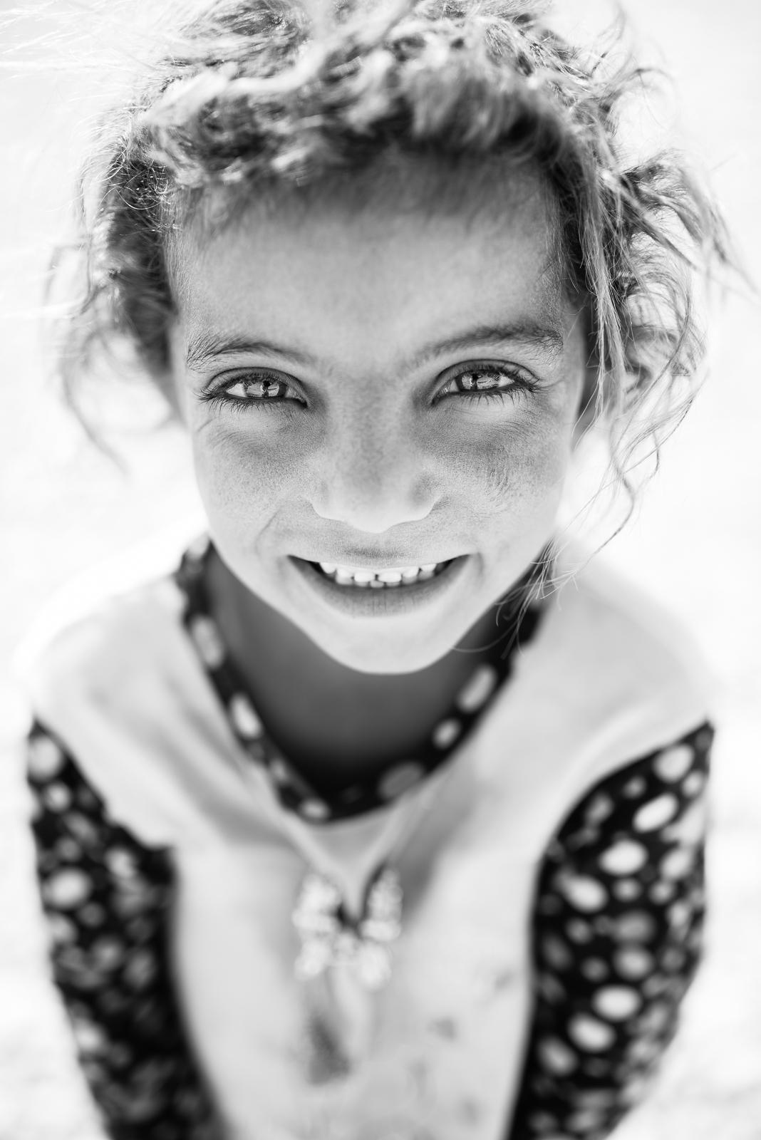 Smiling always! Erbil refugees camp