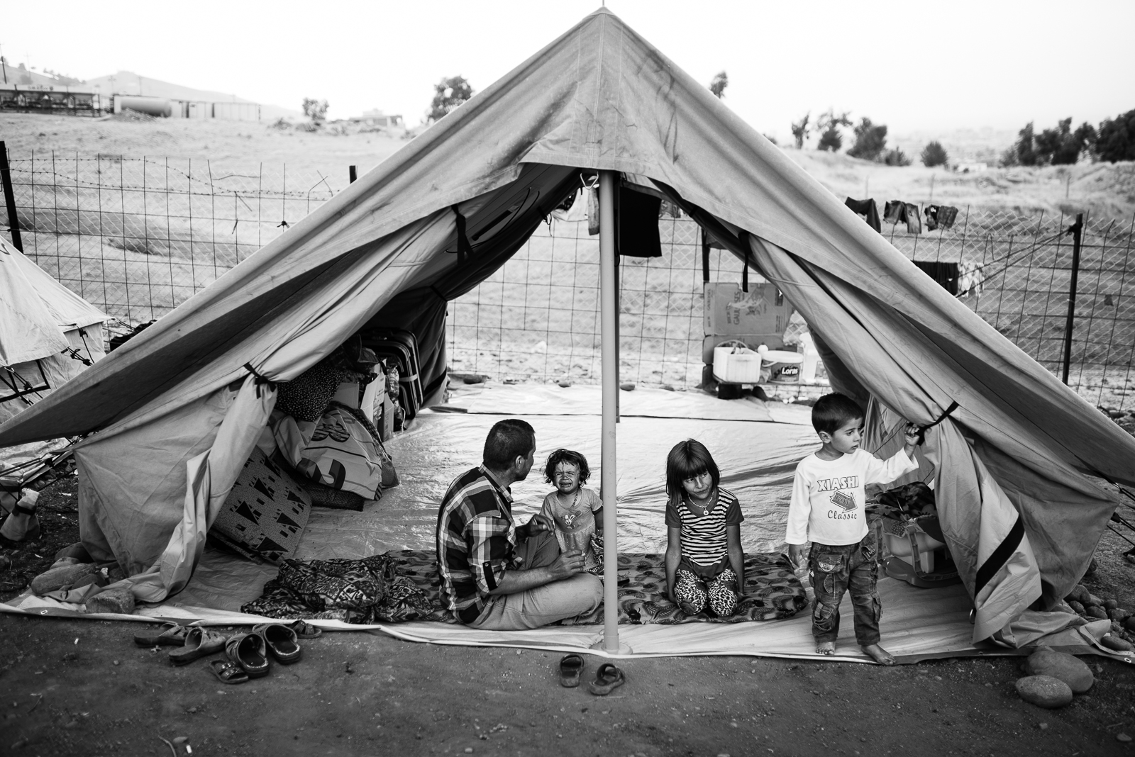 Life in the Zakho's refugees camp